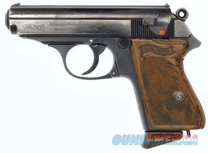 "Walther PPK .32 pistol with a ""W"" suffix  Guns > Pistols > Walther Pistols > Pre-1945 > PPK"
