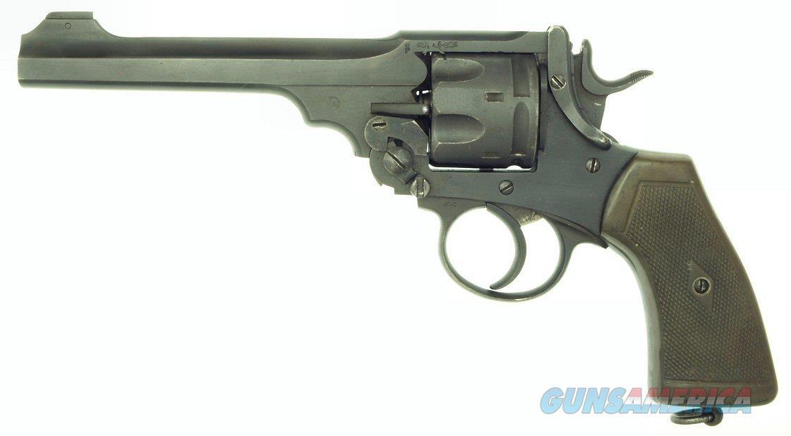 Webley Mark VI .455 Revolver made by Enfield in 1926.  Guns > Pistols > Webley Pistols