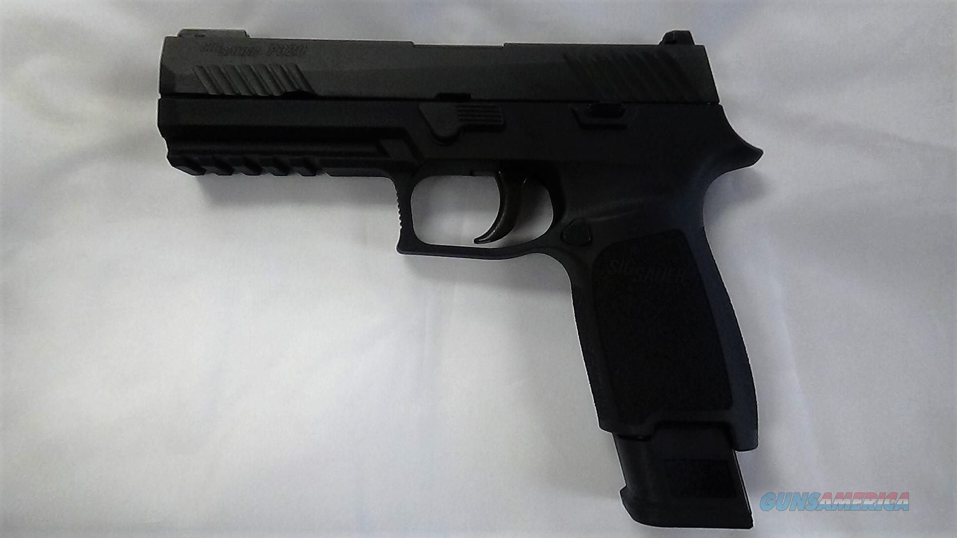 SIG Sauer P320 Tac Ops 9MM Luger 21 Round NIB  Guns > Pistols > Sig - Sauer/Sigarms Pistols > P320