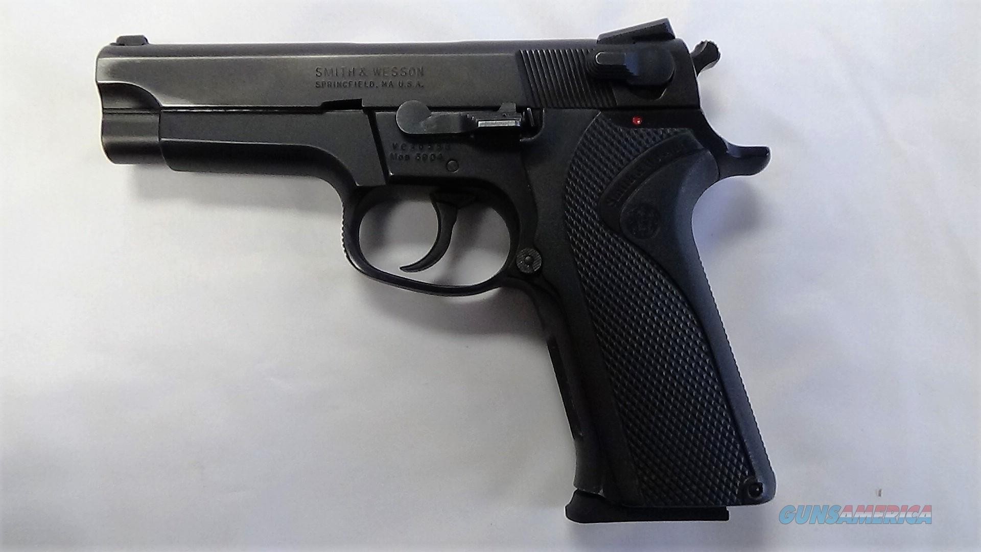 Used Smith & Wesson 5904 9MM 15RD  Guns > Pistols > Smith & Wesson Pistols - Autos > Steel Frame
