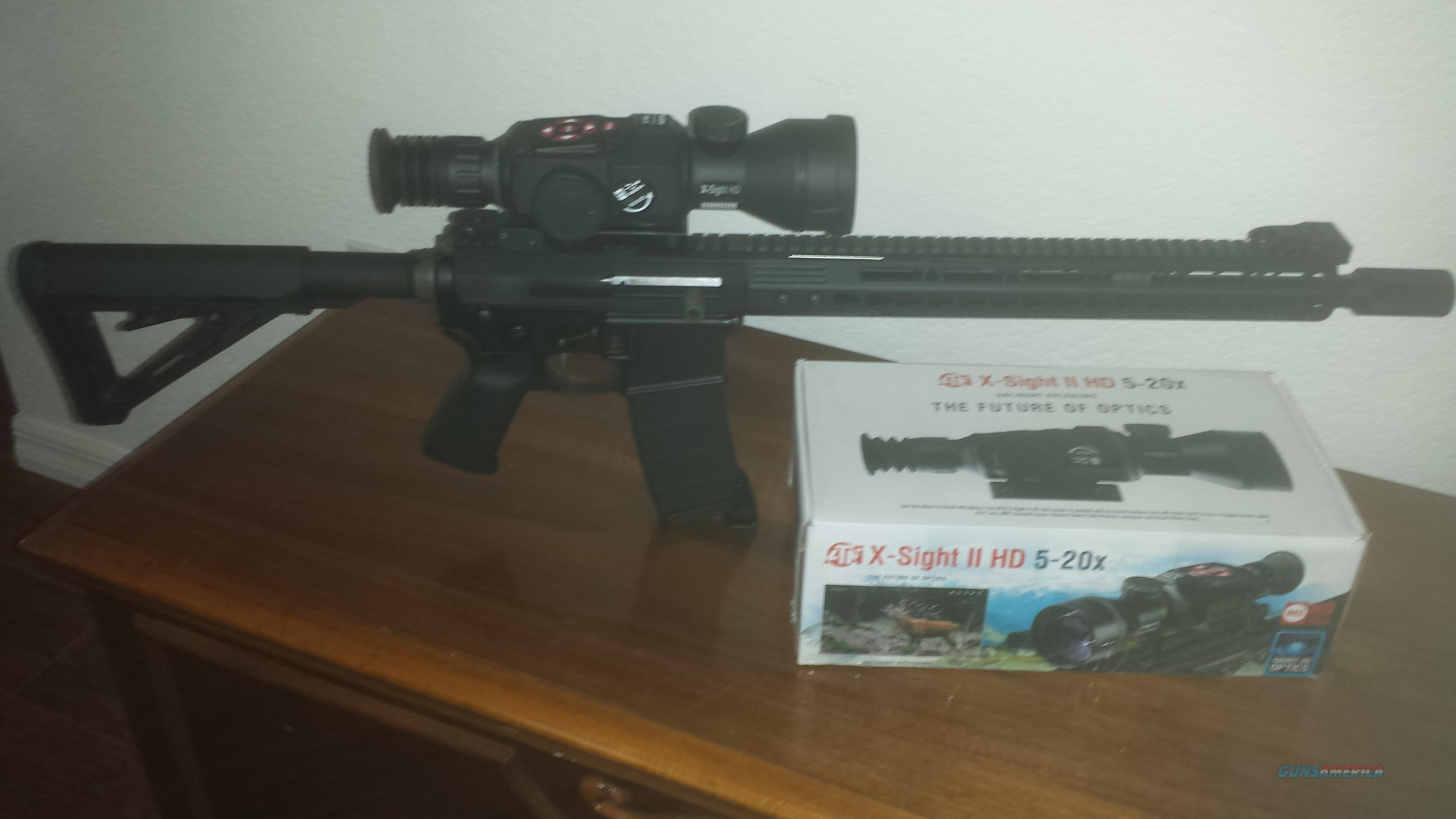 AR15 CUSTOM BUILT SIDE CHARGING RIFLE! .223 NEW NEVER FIRED  Guns > Rifles > AR-15 Rifles - Small Manufacturers > Complete Rifle