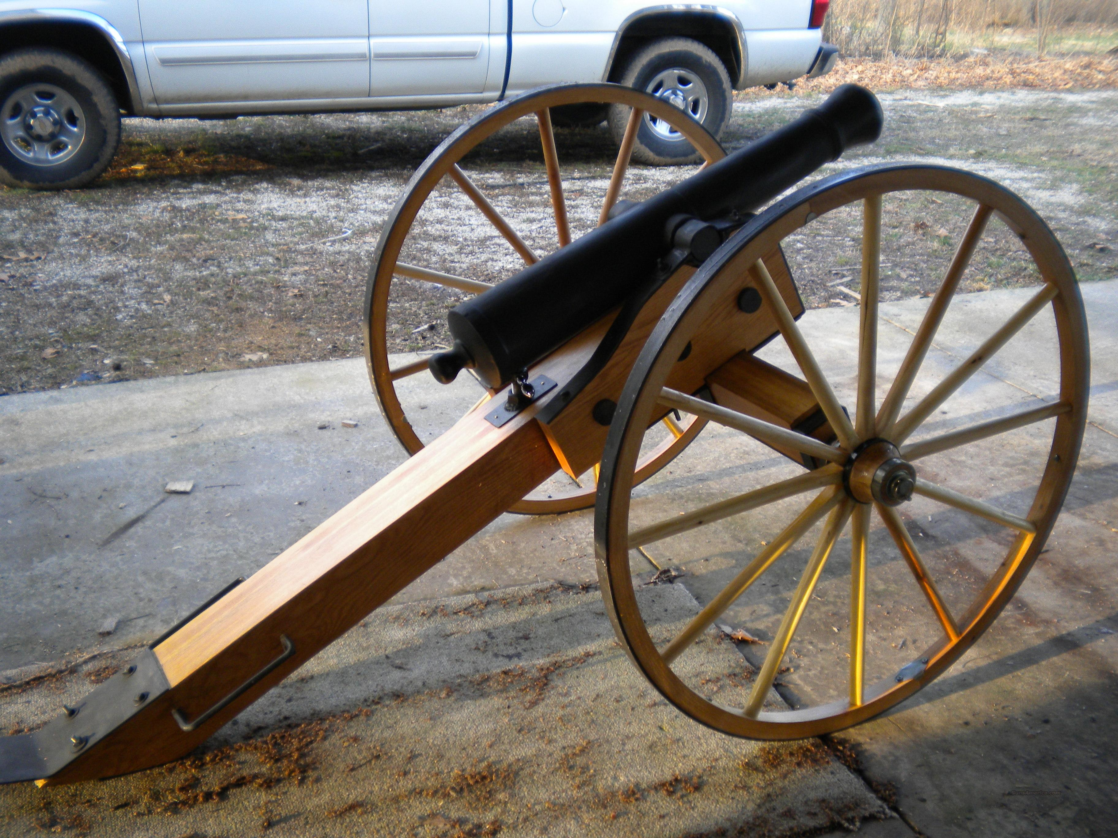 2/3 Scale Six Pounder Cannons  Guns > Rifles > Cannons > Cannons & Field Artilery