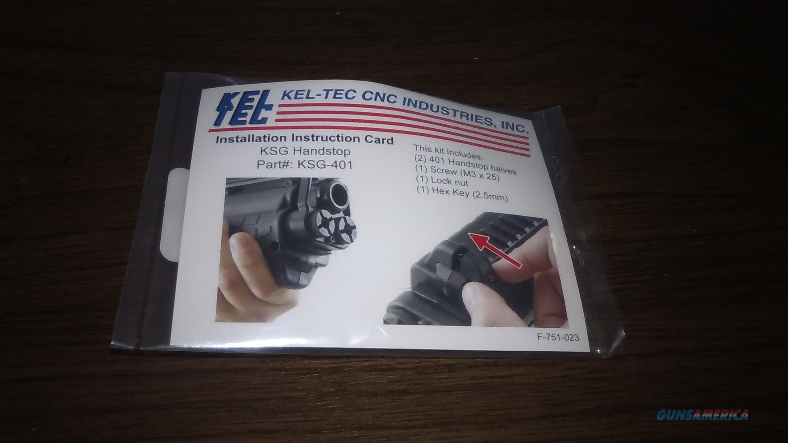 ''KEL-TEC'' KSG Handstop ''Black'' keltec  Non-Guns > Gun Parts > Shotgun High Grade