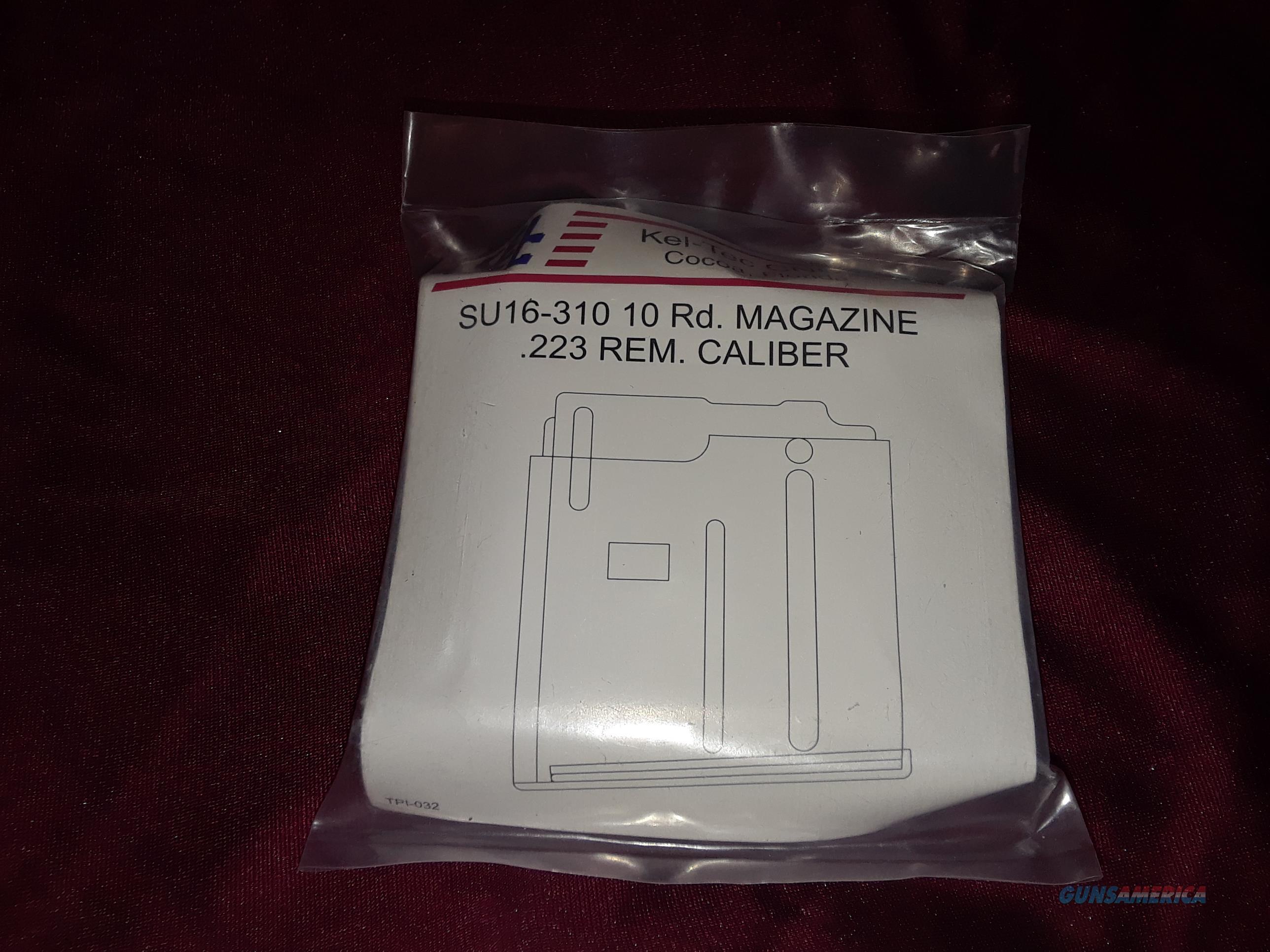 Keltec Su/PLR-16 10RD Magazine   Non-Guns > Magazines & Clips > Rifle Magazines > AR-15 Type