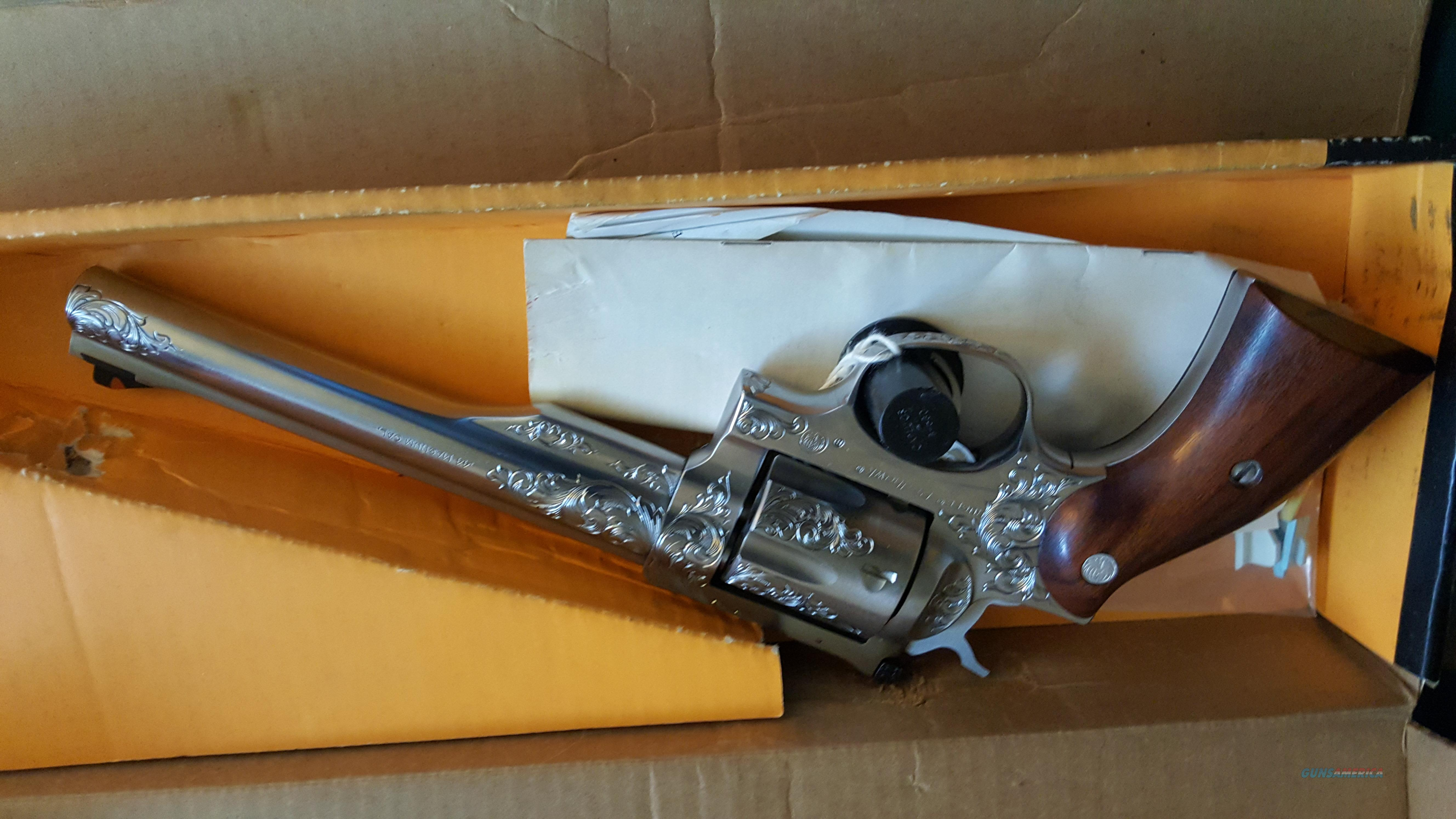 KEN HURST ENGRAVED Ruger Red Hawk 44 Mag  Guns > Pistols > Ruger Double Action Revolver > Redhawk Type