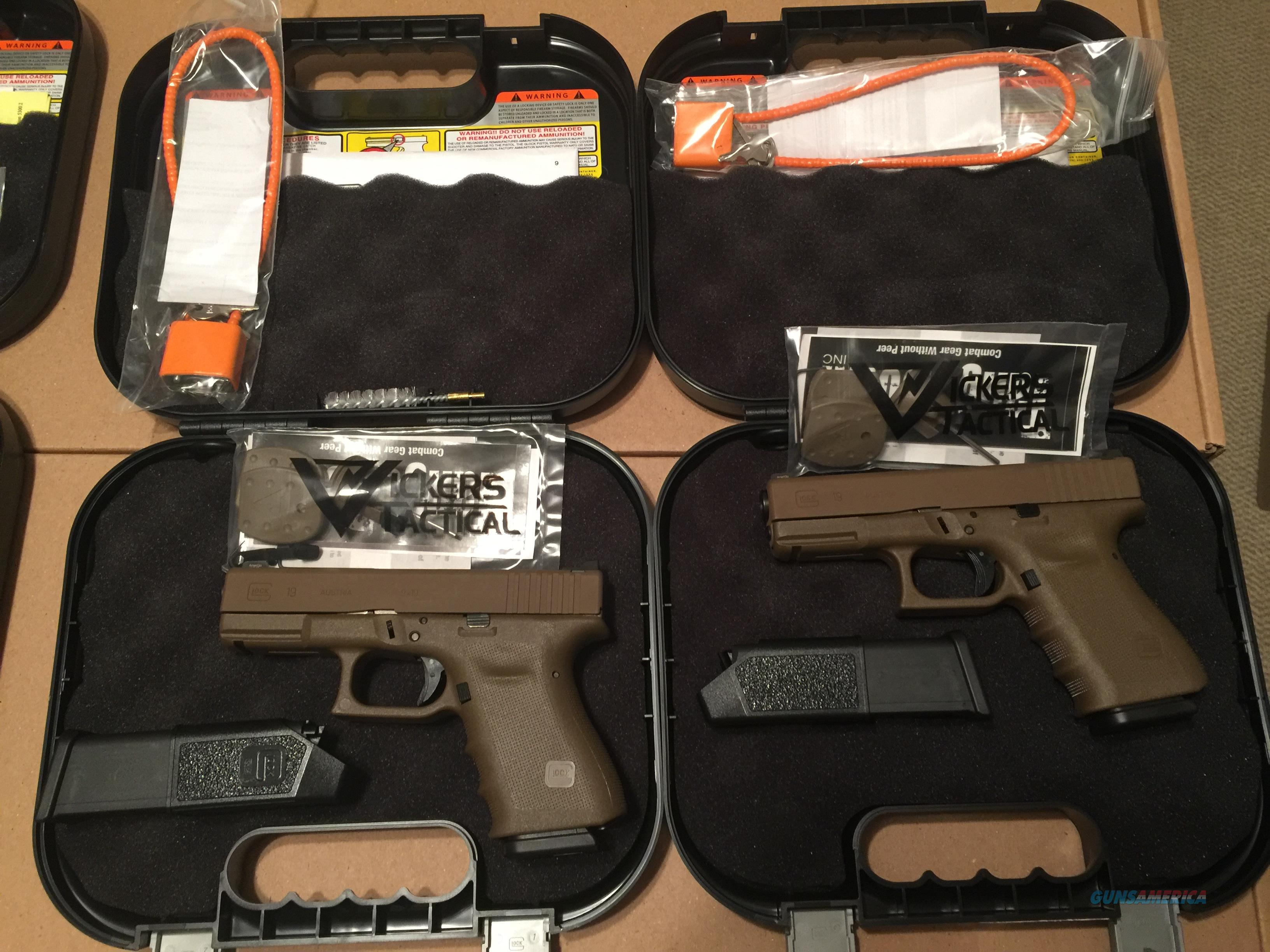 Larry Vickers limited edition G19  Guns > Pistols > Glock Pistols > 19