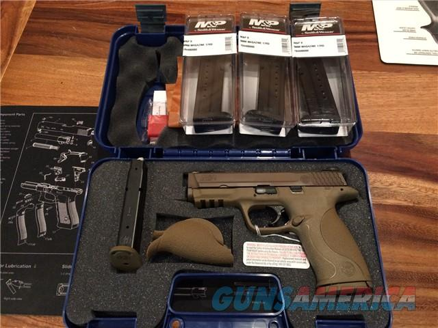 SMITH&WESSON M&P9 VTAC 9mm  Guns > Pistols > Smith & Wesson Pistols - Autos > Polymer Frame