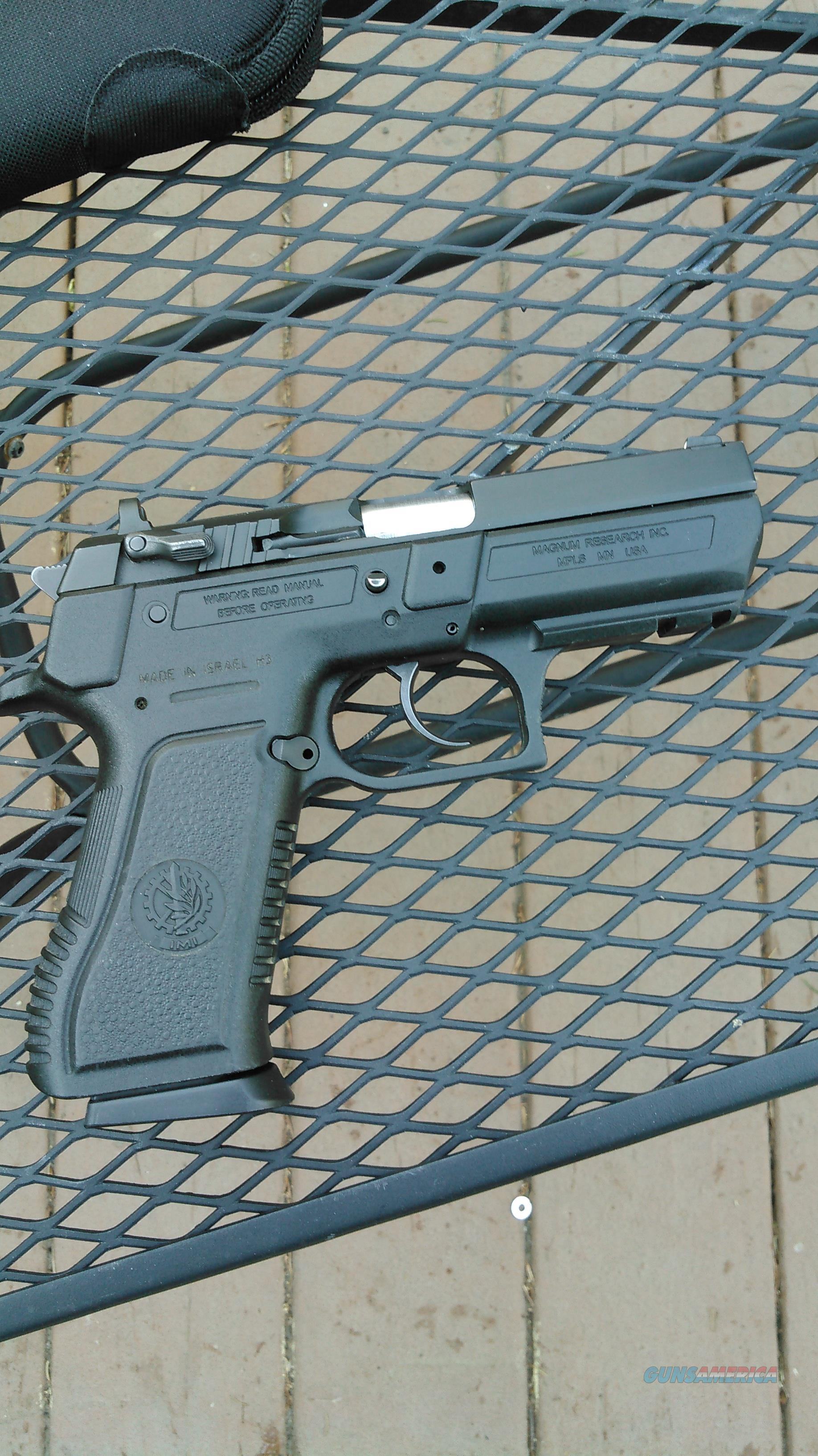 Baby Eagle Polymer Semi-Compact  Guns > Pistols > Magnum Research Pistols