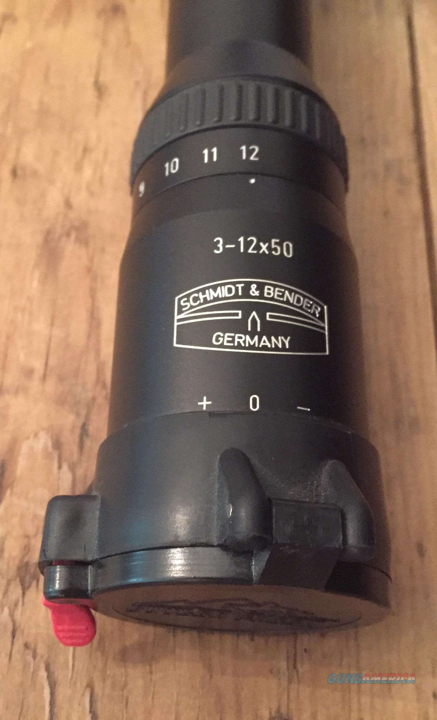 Schmidt & Bender Klassik 3-12 x 50  Non-Guns > Scopes/Mounts/Rings & Optics > Rifle Scopes > Variable Focal Length