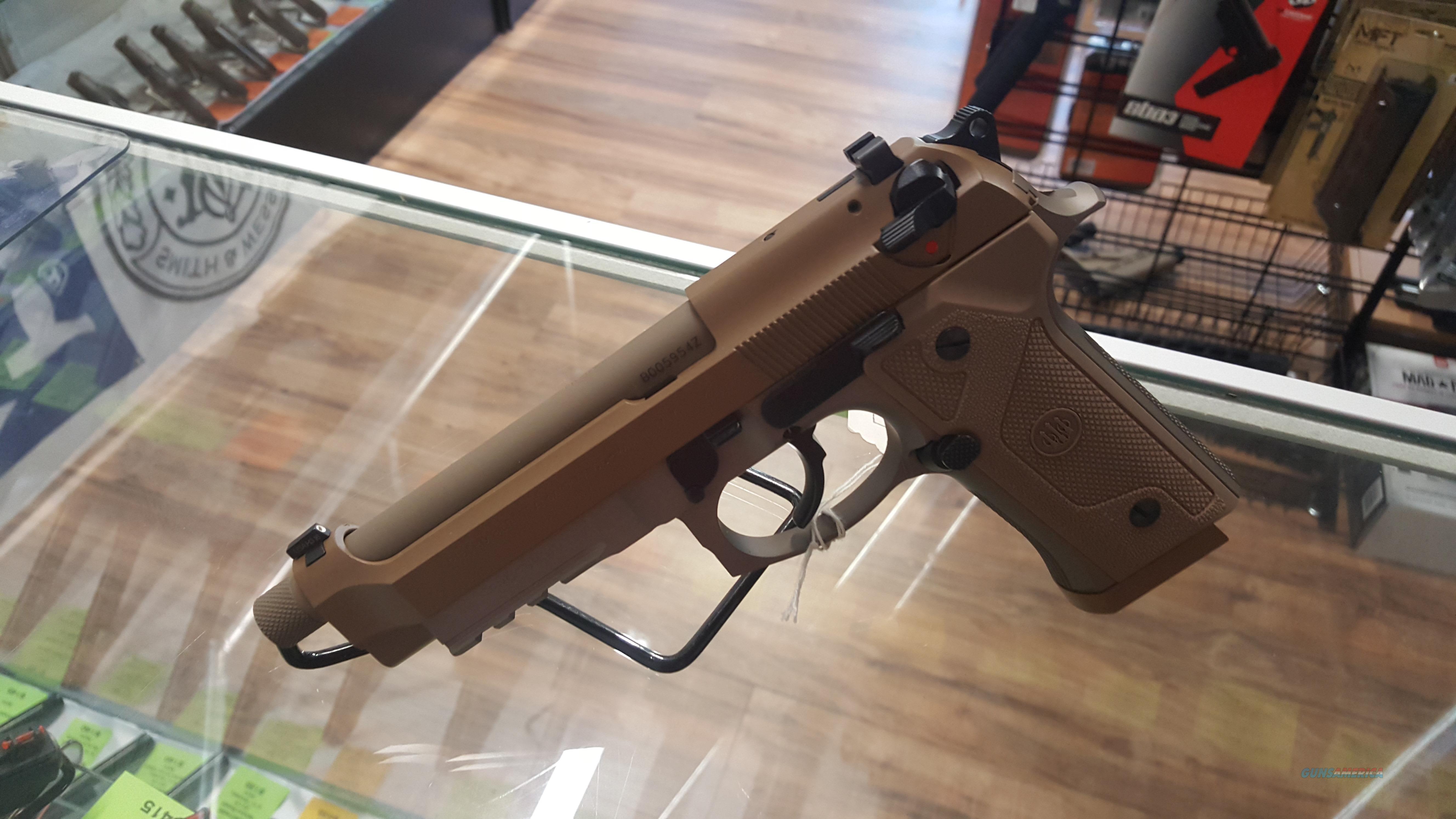 NEW Berrata M9A3 FDE  W/Threaded Barrel and 2 Mags!   Guns > Pistols > Beretta Pistols > Model 92 Series