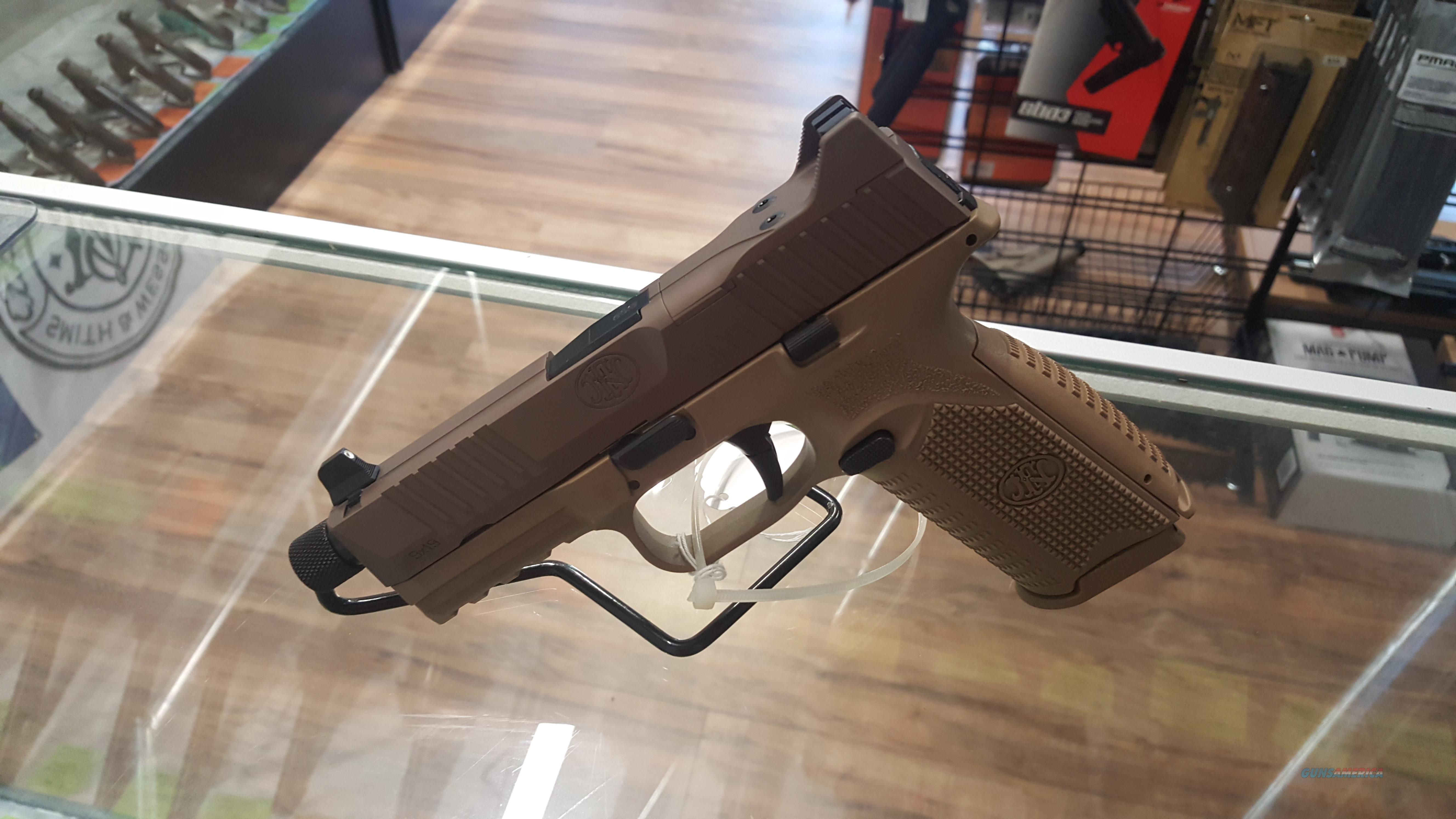 NEW FN 509 Tactical! Night Sights, Threaded Barrel, 3 Mags + Carry Case!  Guns > Pistols > FNH - Fabrique Nationale (FN) Pistols > FN 509