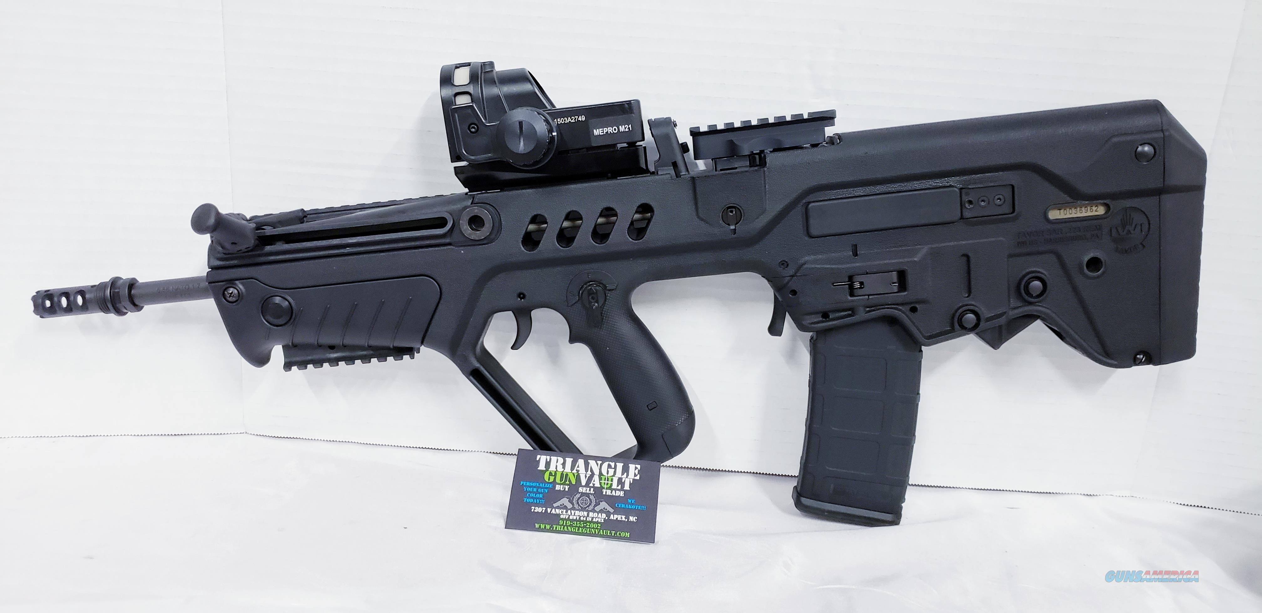 IWI SAR-IDF Tavor 5.56  Guns > Rifles > IWI Rifles