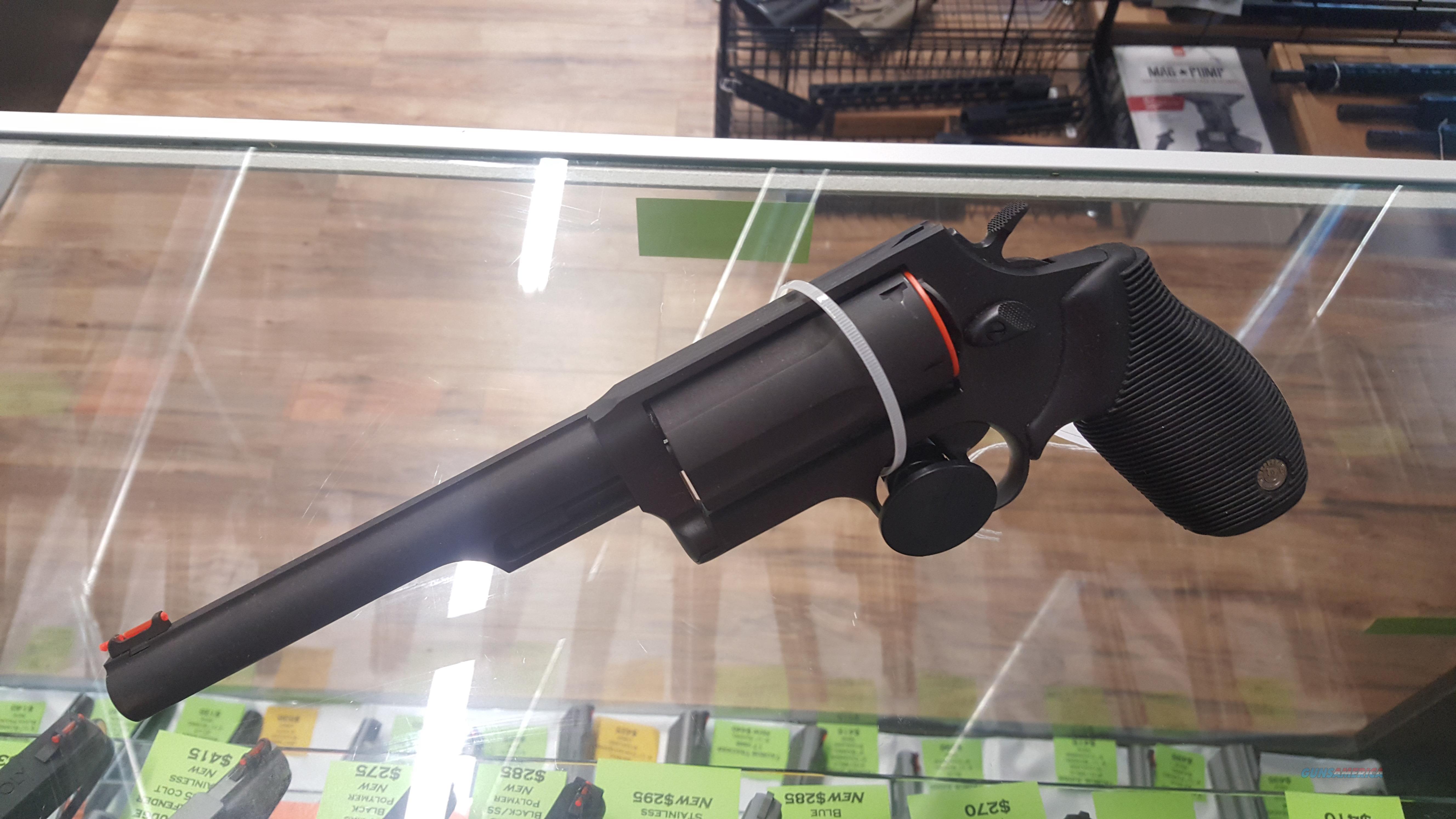 "Taurus Judge 6 1/2"" Blued Revolver, 3"" Chambered! NEW  Guns > Pistols > Taurus Pistols > Revolvers"