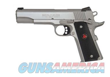 "Colt 1911 Delta Elite 10mm New 5"" Stainless  Guns > Pistols > Colt Automatic Pistols (1911 & Var)"