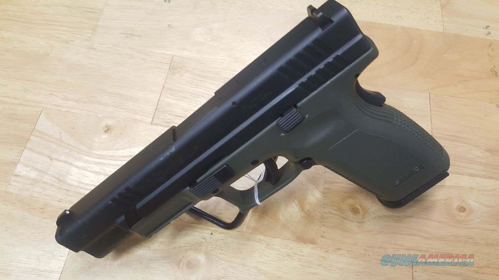 Springfield XD Tactical Od Green .45acp W/2 Mags - Used  Guns > Pistols > Springfield Armory Pistols > XD (eXtreme Duty)