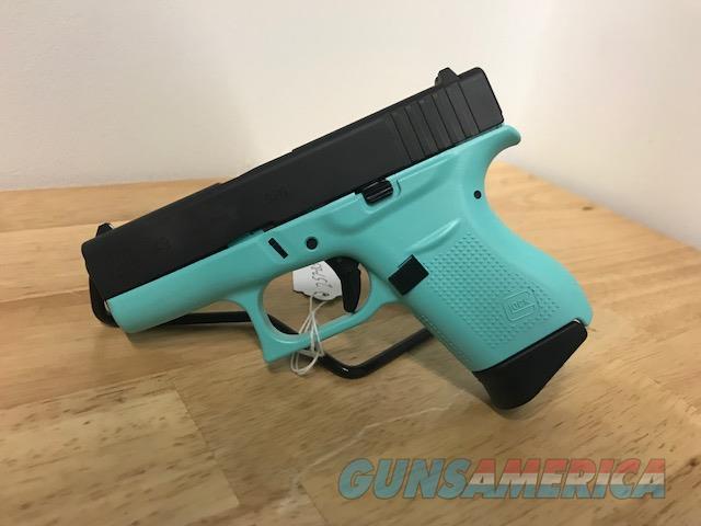 Glock 43 Robin's Egg Blue Layaway 9mm Tiffany Blue  Guns > Pistols > Glock Pistols > 43