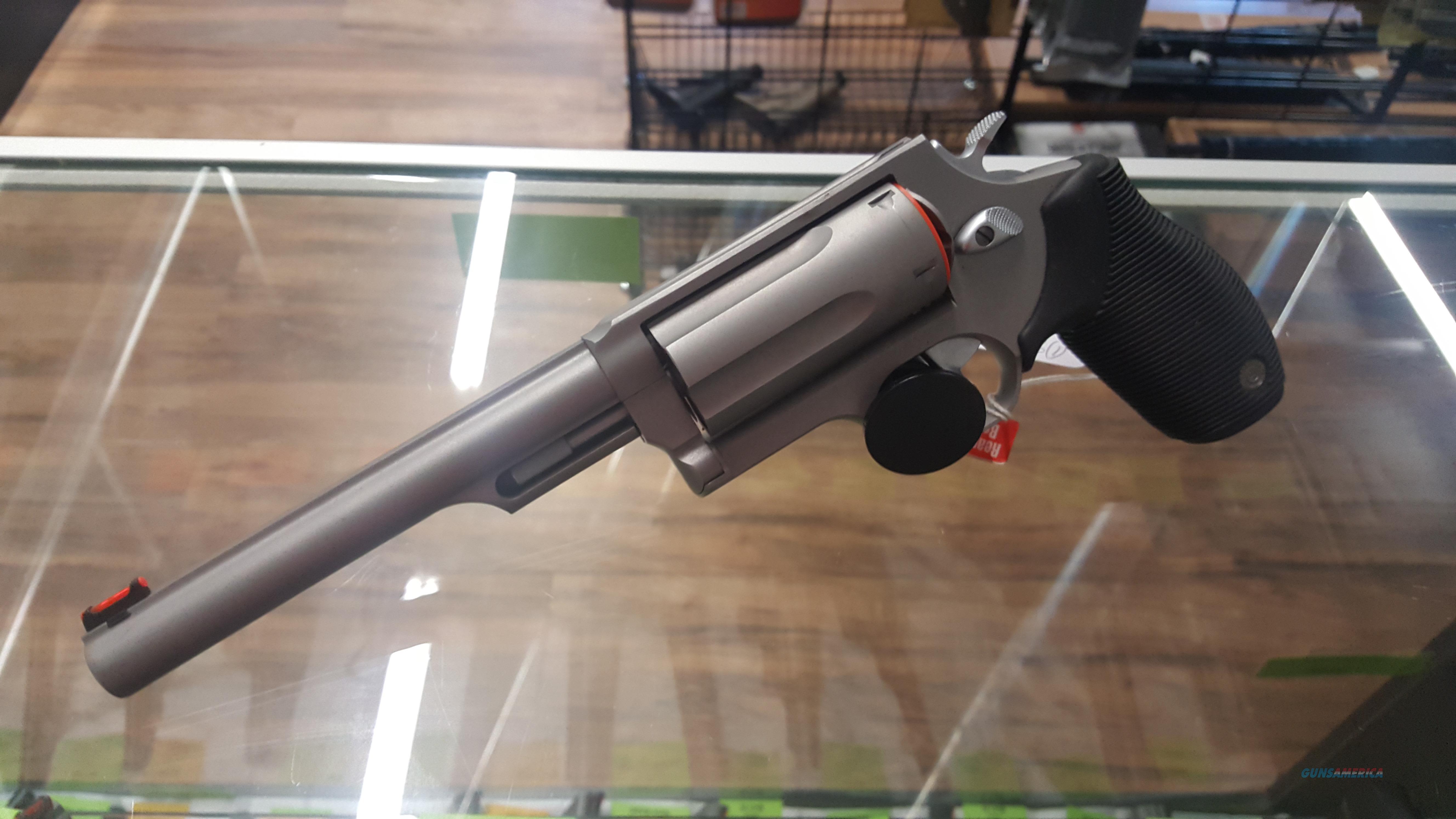 """Taurus Judge 6 1/2"""" Stainless Revolver, 3"""" Chamber! NEW  Guns > Pistols > Taurus Pistols > Revolvers"""