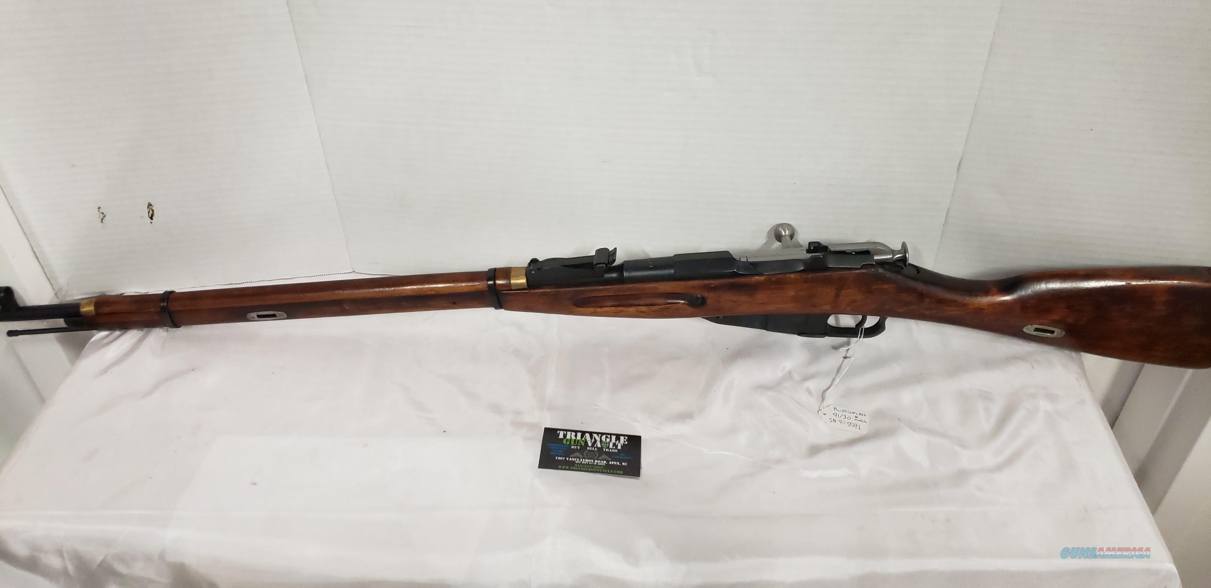 Russian 91/30 7.62x54R Mosin 1932R Hex Receiver  Guns > Rifles > Military Misc. Rifles Non-US > Other