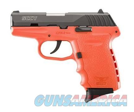 Sccy Cpx-2 9mm 2 mags Orange Black No CC Fees Layaway  Guns > Pistols > SCCY Pistols > CPX2