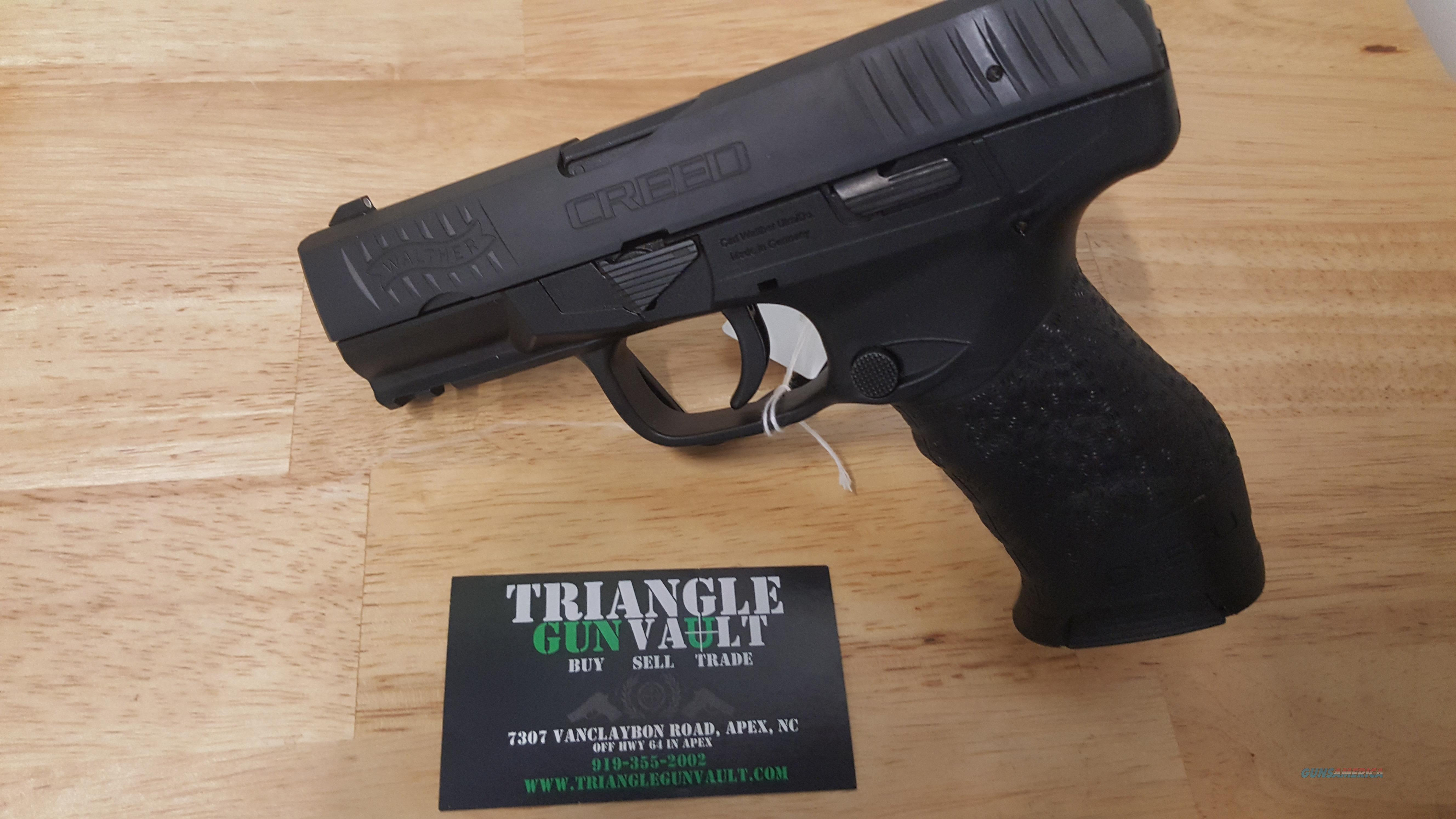 Walther Creed 9mm Pistol W/Extra Mag  Guns > Pistols > Walther Pistols > Post WWII > Creed