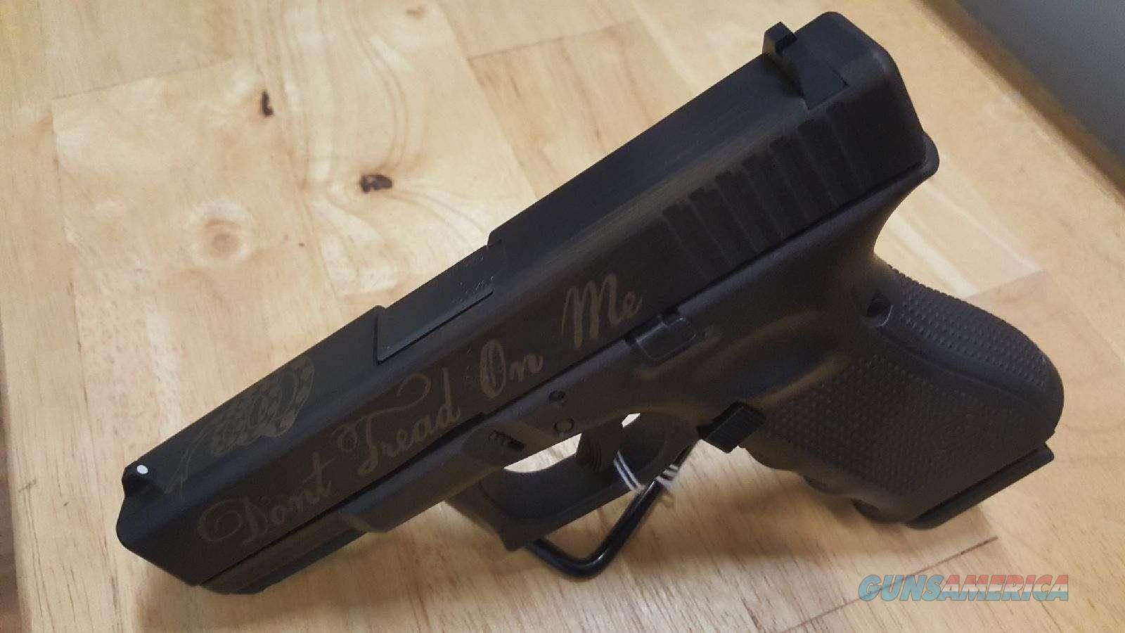 "Very Limited 9mm Glock 19 Gen 4 ""Dont Tread on Me"" - New in Box  Guns > Pistols > Glock Pistols > 19/19X"