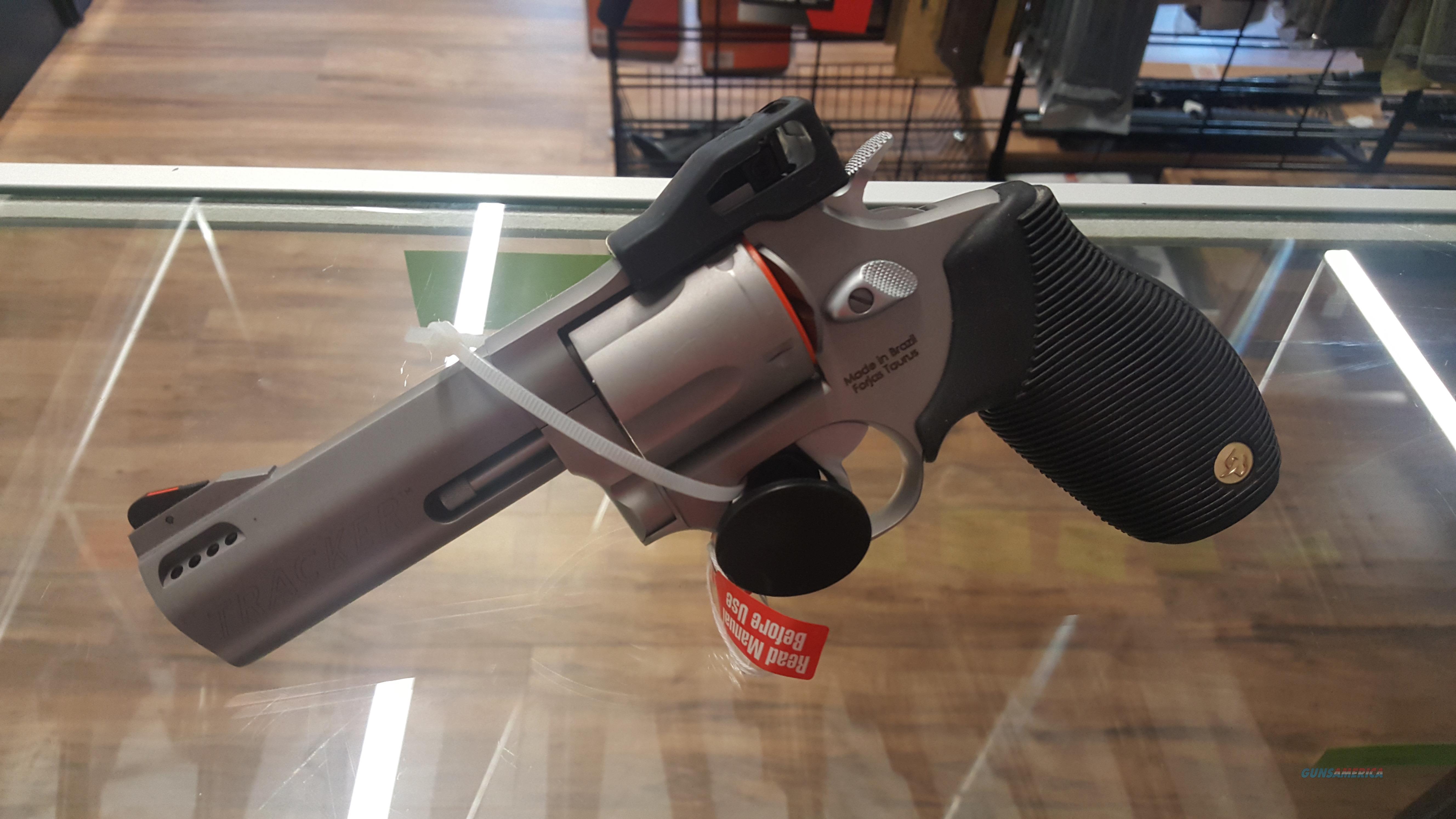 "Taurus Tracker 44 Magnum Revolver, 4"" Ported Barrel! NEW  Guns > Pistols > Taurus Pistols > Revolvers"