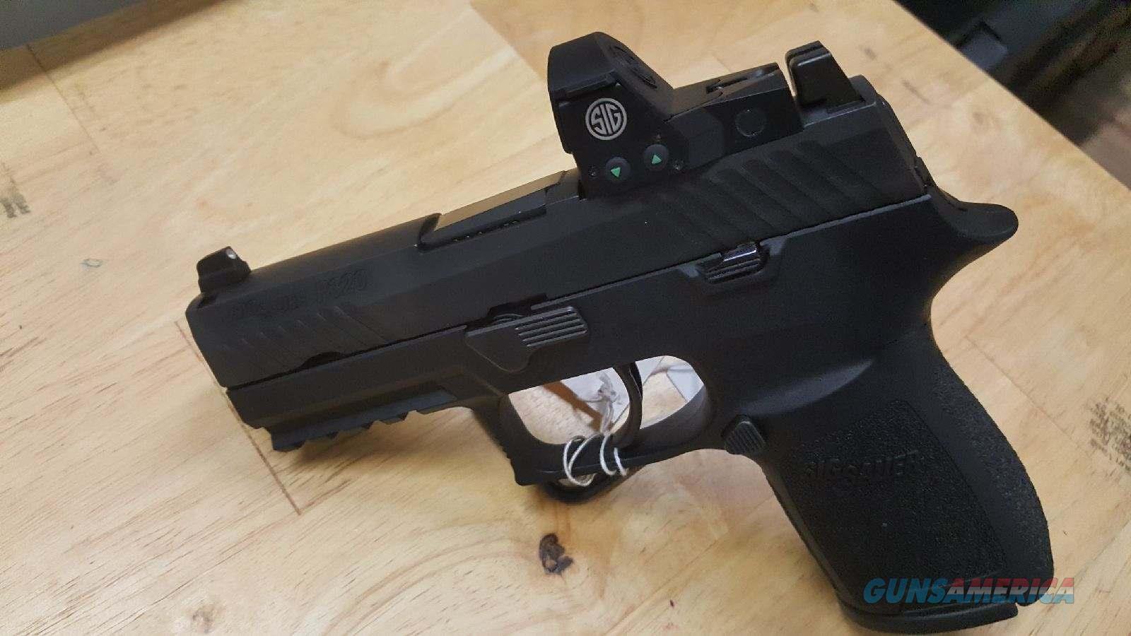 Sig 320 Compact RX W/Night Sights and Sig Romeo, 9mm! New in Box  Guns > Pistols > Sig - Sauer/Sigarms Pistols > P320