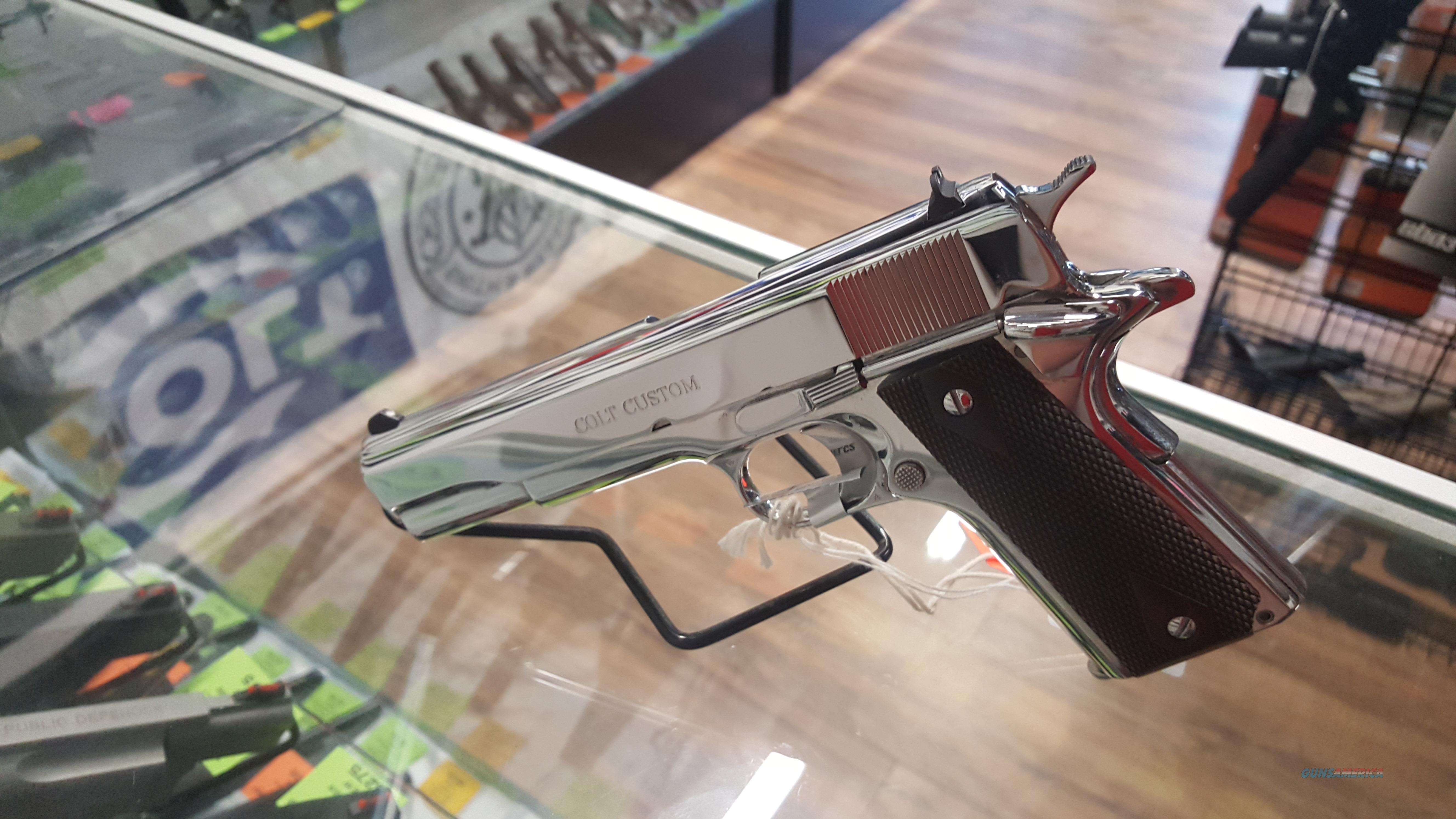 Colt 1911 El Cen 38 Super, Bright Stainless W/extra Mag! NEW  Guns > Pistols > Colt Automatic Pistols (1911 & Var)