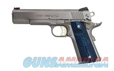 """Colt Competition 1911 38 Super Government Stainless 5"""" G10 Grips New Layaway  Guns > Pistols > Colt Automatic Pistols (1911 & Var)"""
