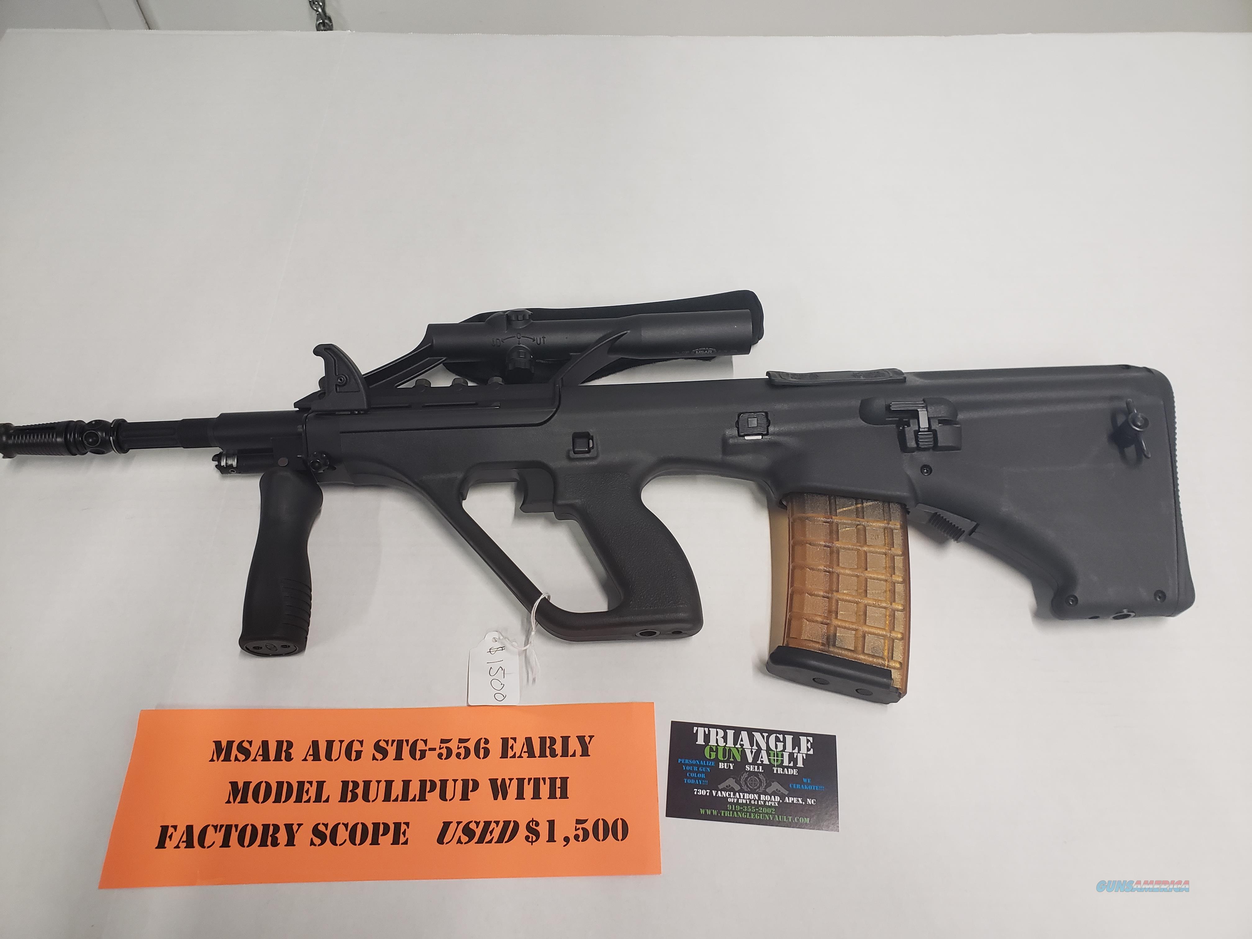 MSAR STG-556 Rare First Gen No CC Fees Layaway  Guns > Rifles > Steyr Rifles