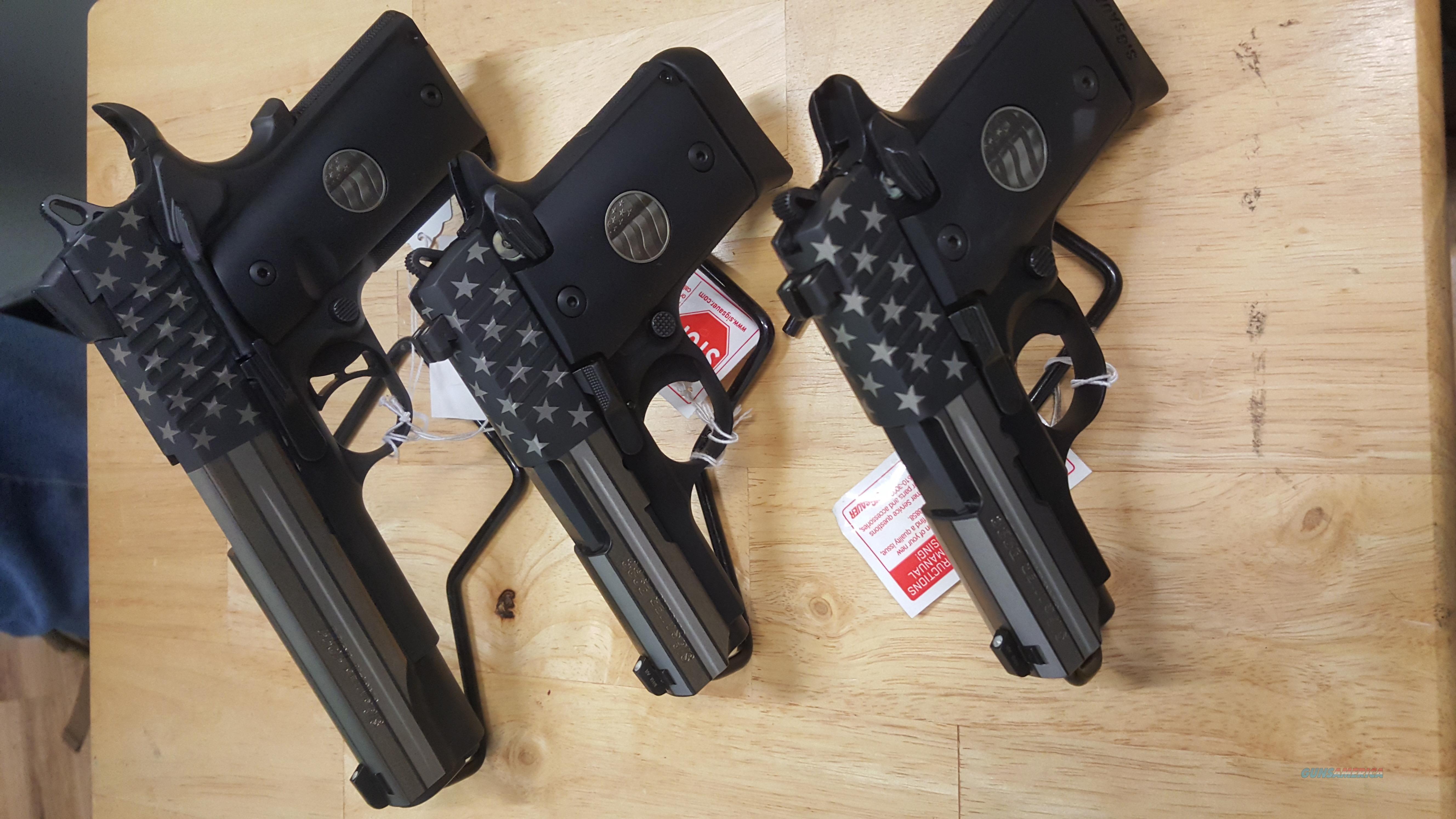 "Limited Sig Sauer ""Stand"" Complete Set, 238, 938 & 1911!!  Guns > Pistols > Sig - Sauer/Sigarms Pistols > 1911"