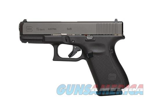 Glock 19 Gen 5 9mm New 3 mags NO Credit Card Fees Layaway  Guns > Pistols > Glock Pistols > 19/19X