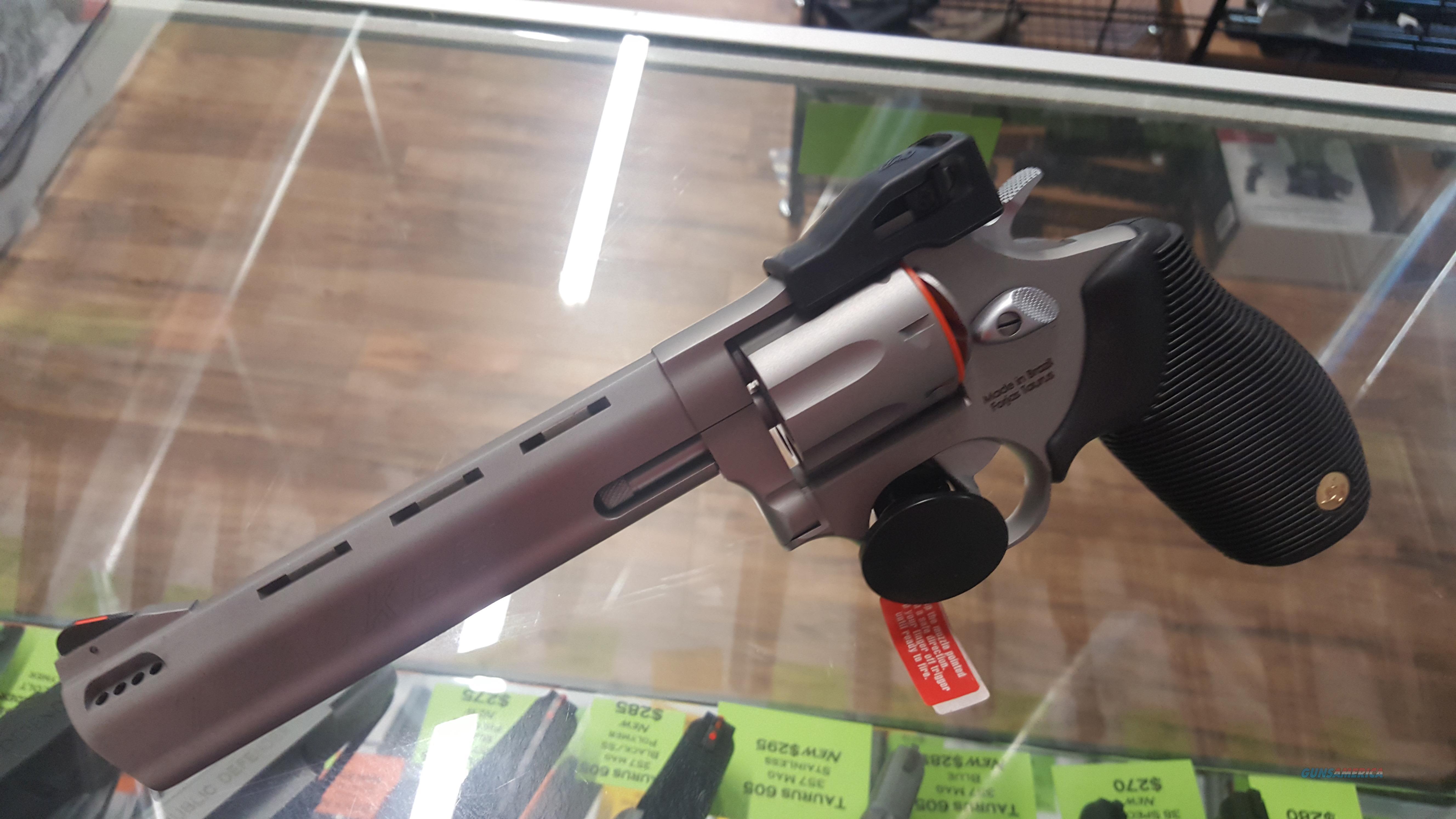 "Taurus 627 Tracker .357 Mag, 6 1/2"" Ported Barrel Stainless! NEW  Guns > Pistols > Taurus Pistols > Revolvers"