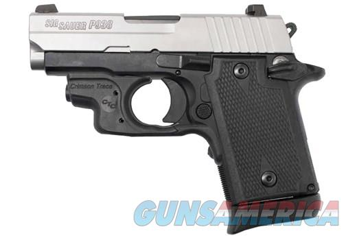Sig Sauer P938 Crimson Trace Night Sights two-tone 9mm New Layaway Sale  Guns > Pistols > Sig - Sauer/Sigarms Pistols > P938