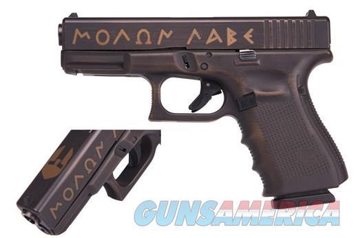 Glock 19 Gen 4 Spartan Limited Edition 9mm No CC Fees Layaway  Guns > Pistols > Glock Pistols > 19/19X