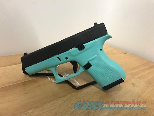 Glock 42 Robin's Egg Blue Layaway 380 Tiffany Blue  Guns > Pistols > Glock Pistols > 42