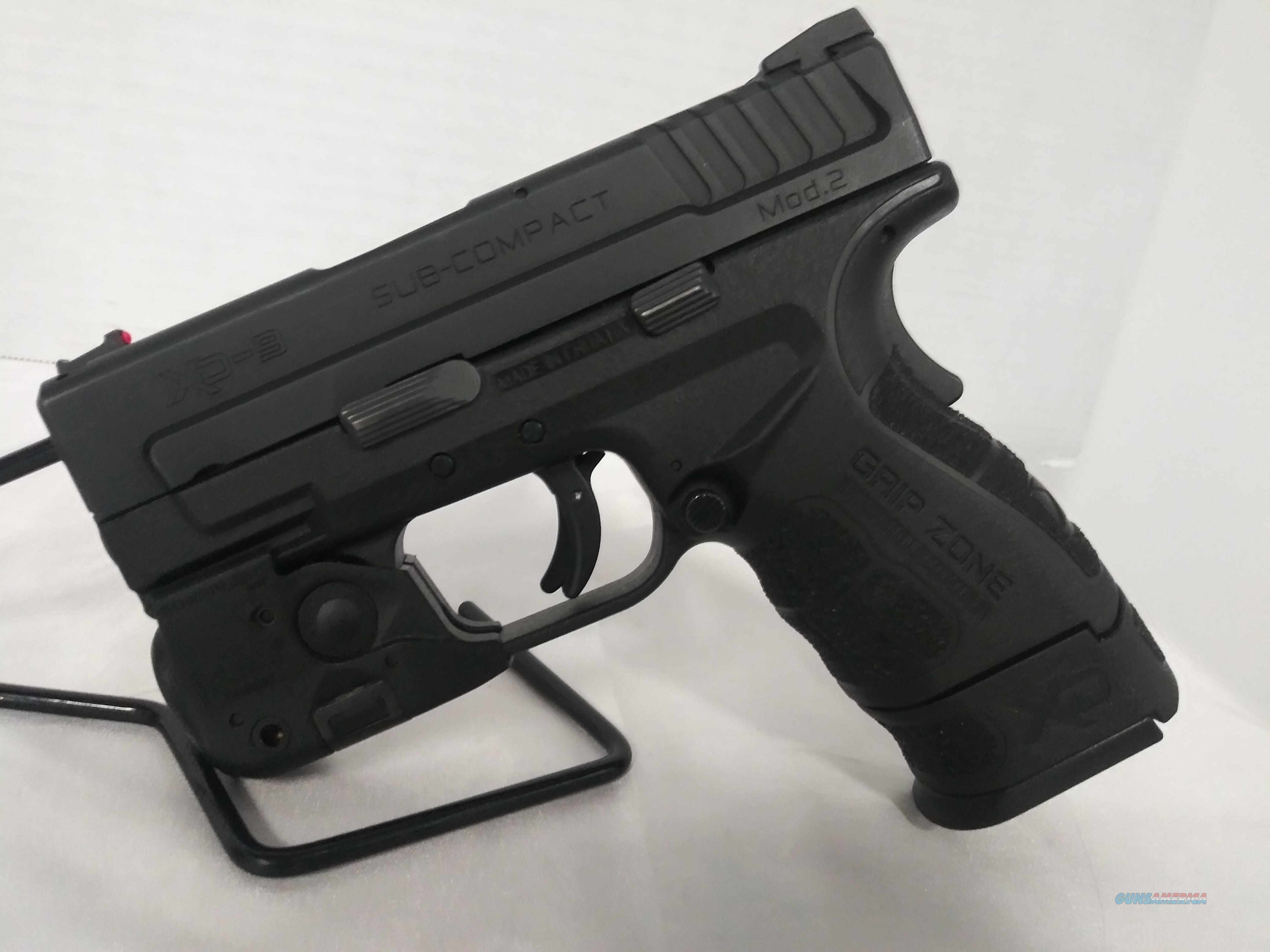 Springfield XD SC Light Laser Combo 9MM Used No CC Fees Layaway  Guns > Pistols > Springfield Armory Pistols > XD-Mod.2