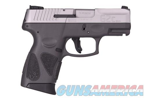 Taurus G2c Gray Stainless Steel 9mm New Layaway  Guns > Pistols > Taurus Pistols > Semi Auto Pistols > Polymer Frame