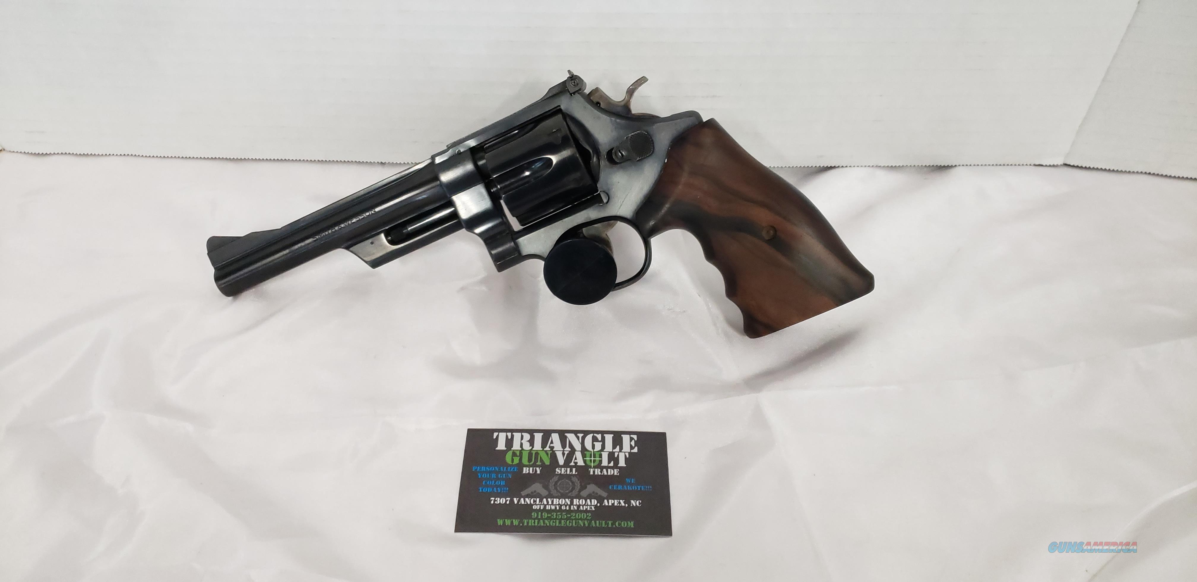 1962 Smith & Wesson 28-2  Guns > Pistols > Smith & Wesson Revolvers > Full Frame Revolver