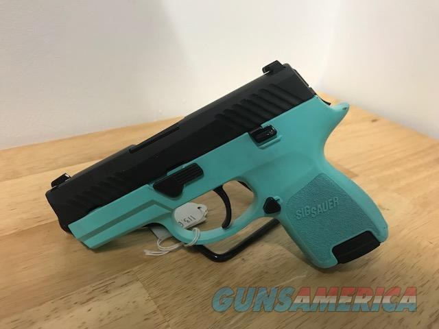 Sig Sauer P320 Subcompact 9mm Robin's Egg Blue Layaway New  Guns > Pistols > Sig - Sauer/Sigarms Pistols > P320