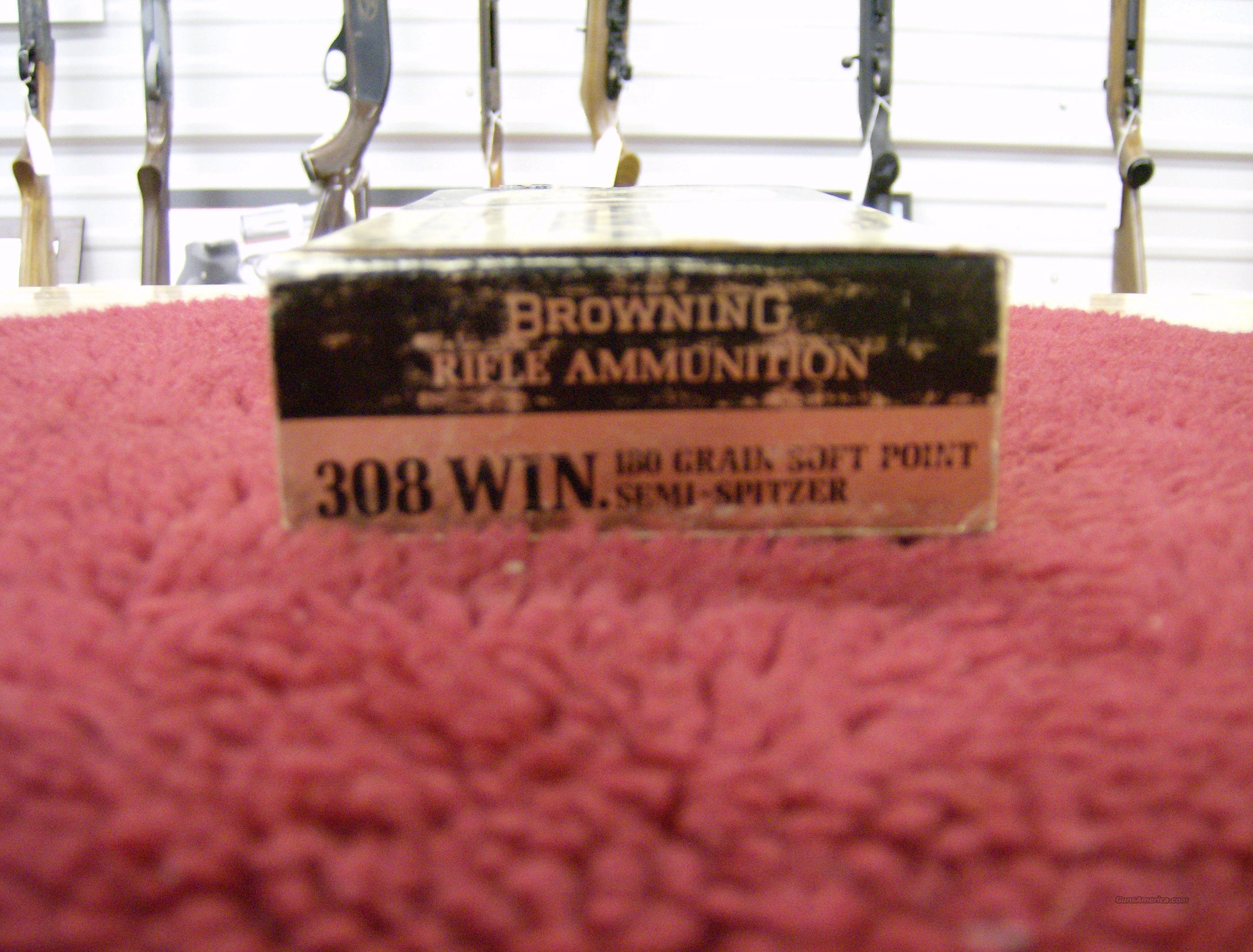 BROWNING 308 WIN. AMMO  Non-Guns > Collectible Cartridges