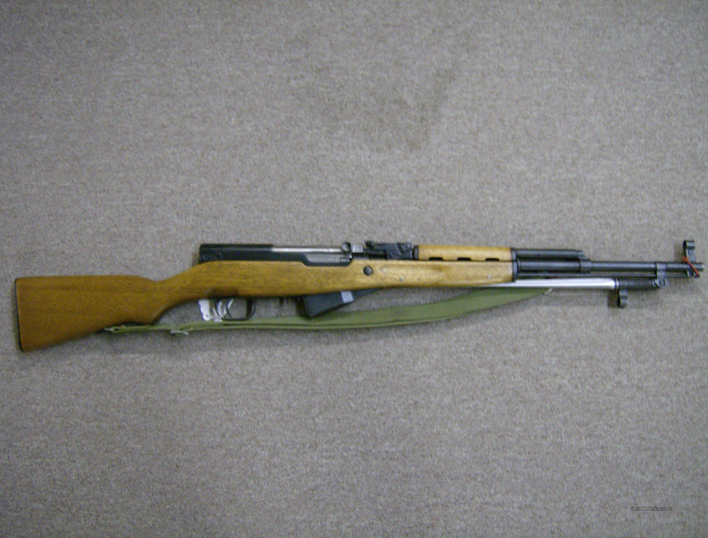 CHINESE SKS 7.62 X 39 RIFLE  Guns > Rifles > SKS Rifles