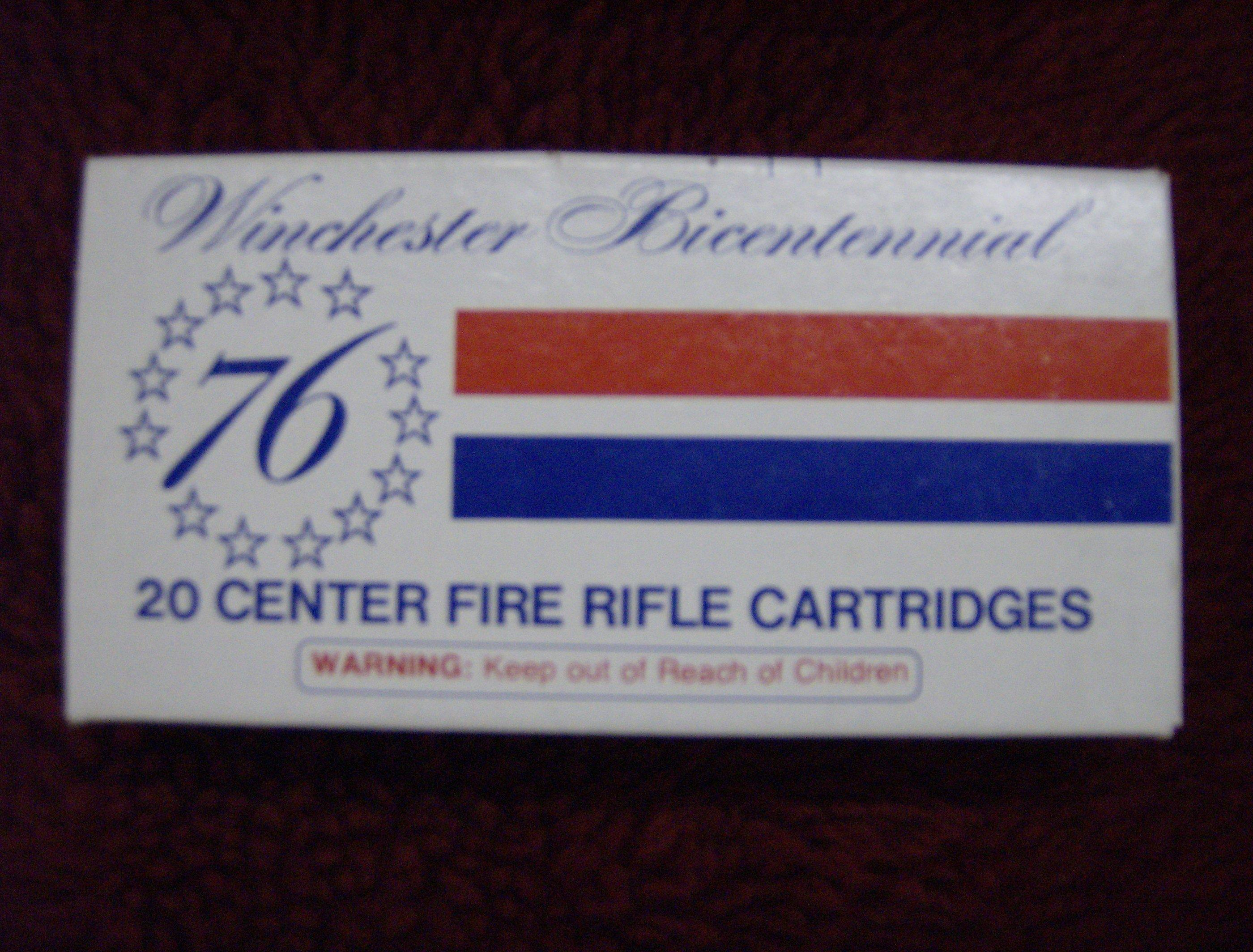 WINCHESTER BICENTENNIAL 30/30  Non-Guns > Collectible Cartridges
