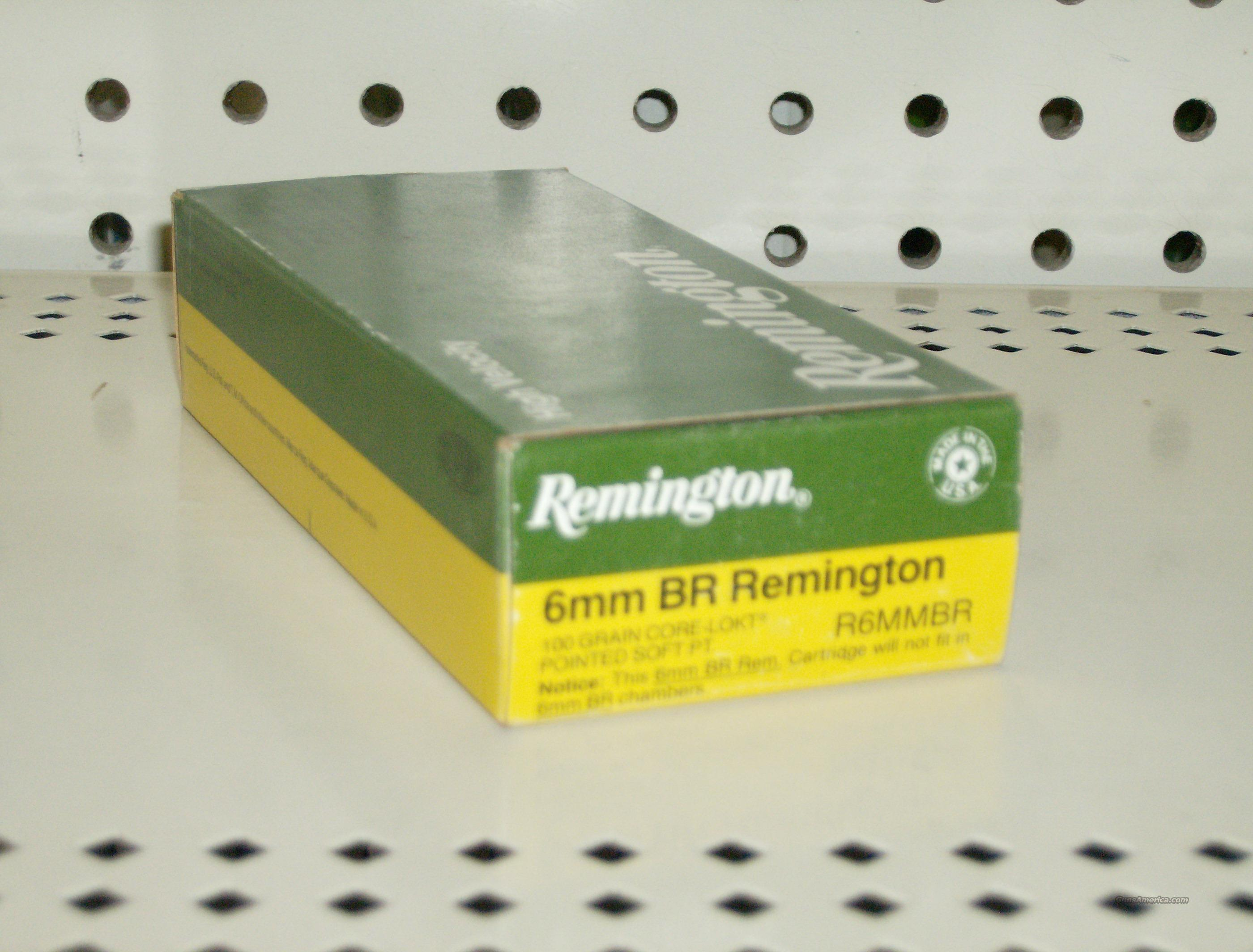 REMINGTON 6MM BR REMINGTON  Non-Guns > Collectible Cartridges