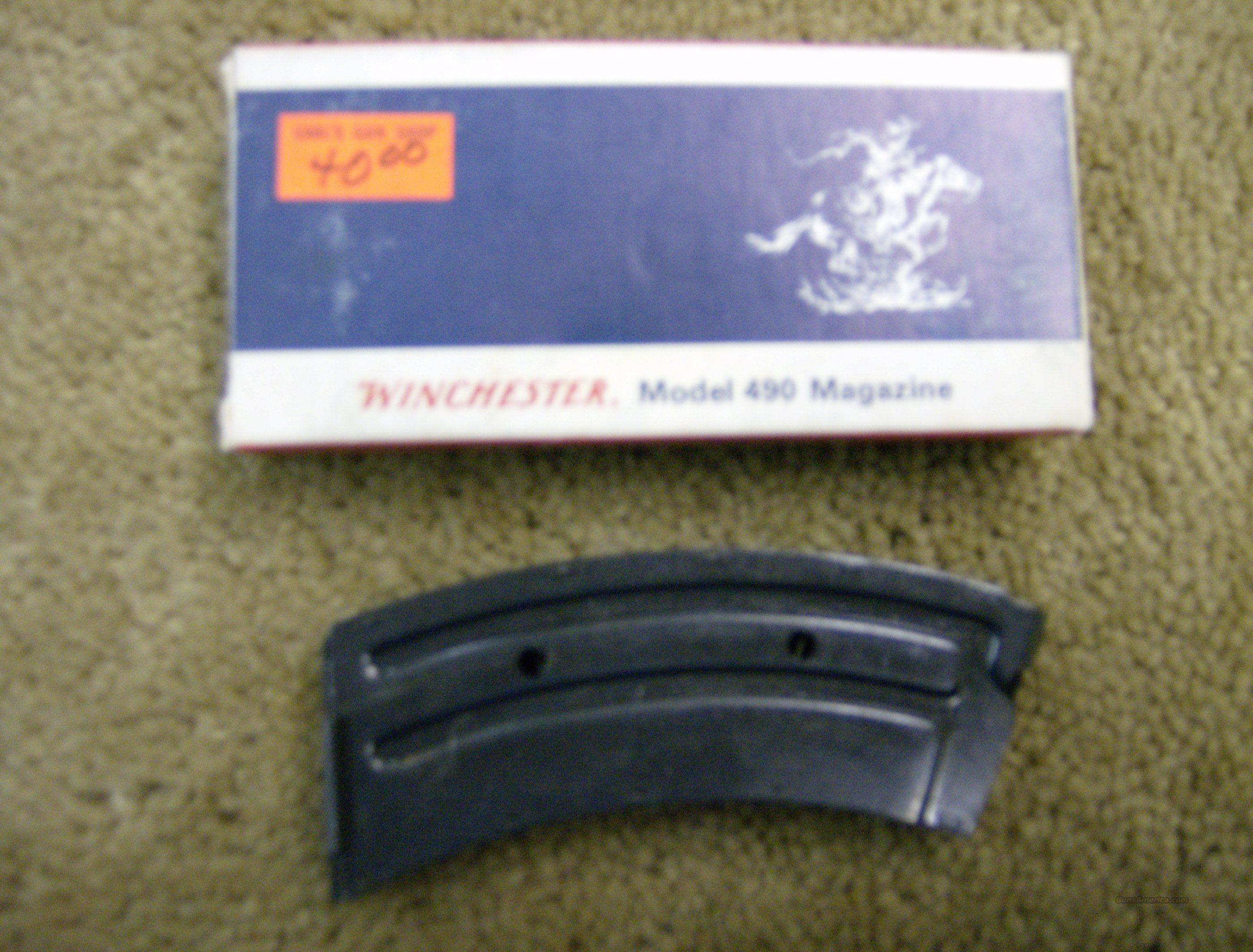 WINCHESTER 490 10 RD CLIP  Non-Guns > Magazines & Clips > Rifle Magazines > Other