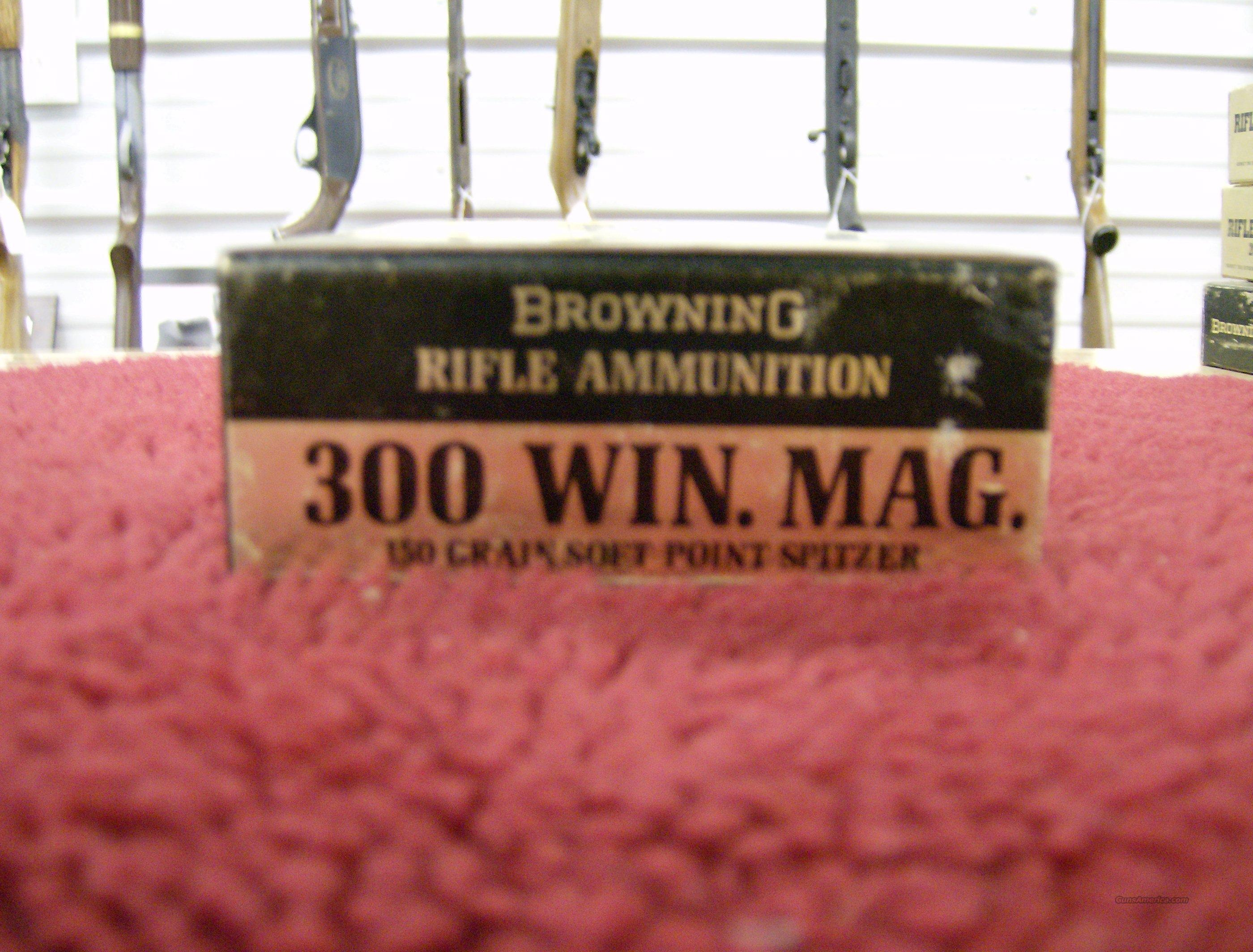 BROWNING 300 WIN. MAG. AMMO  Non-Guns > Collectible Cartridges