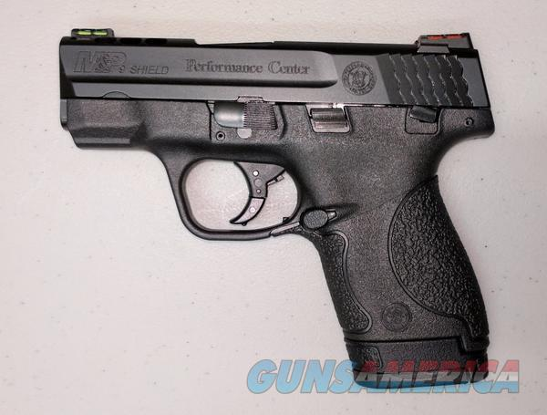 Smith & Wesson M&P Shield 9mm Pro Performance Center w/ Thumb Safety  Guns > Pistols > Smith & Wesson Pistols - Autos > Shield
