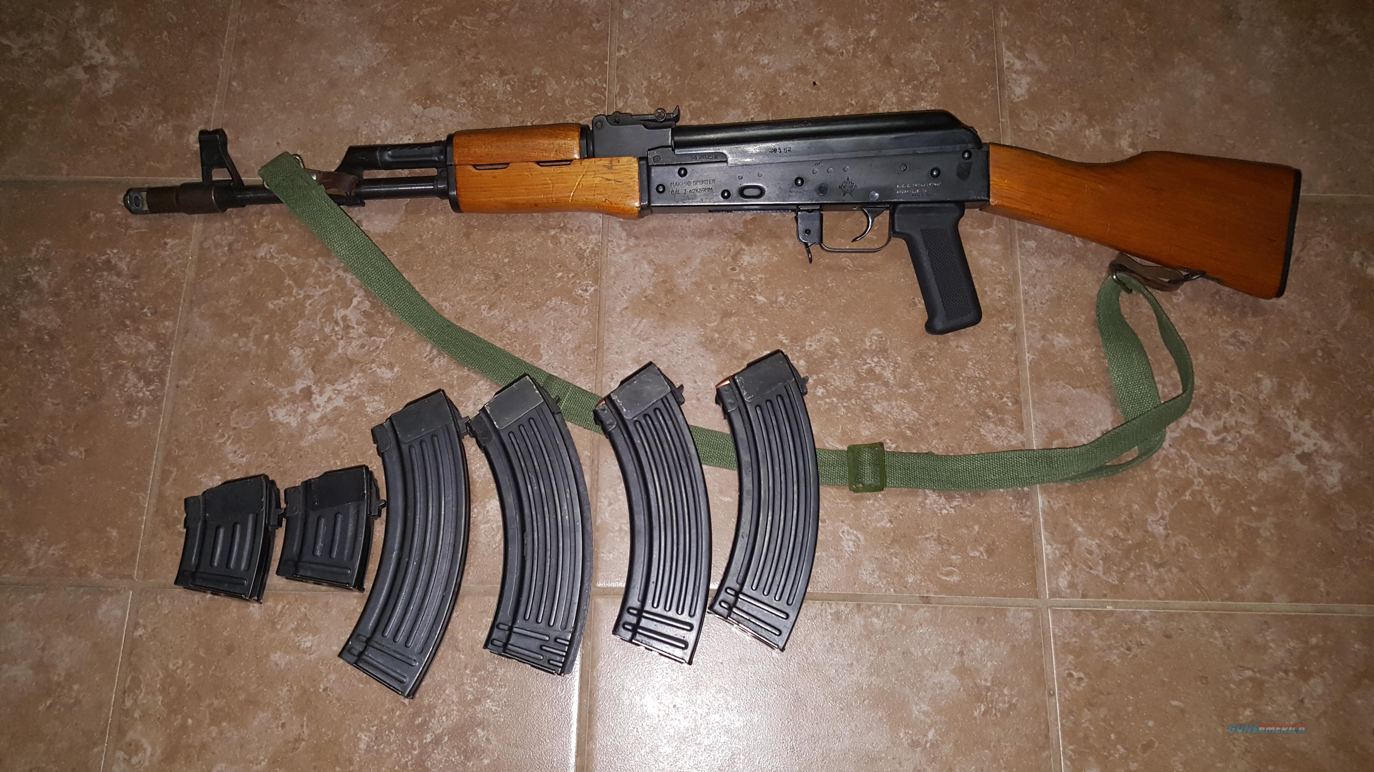 Norinco Mak-90 Sporter 7.62x39mm AK-47 w/ mags and ammo  Guns > Rifles > AK-47 Rifles (and copies) > Full Stock