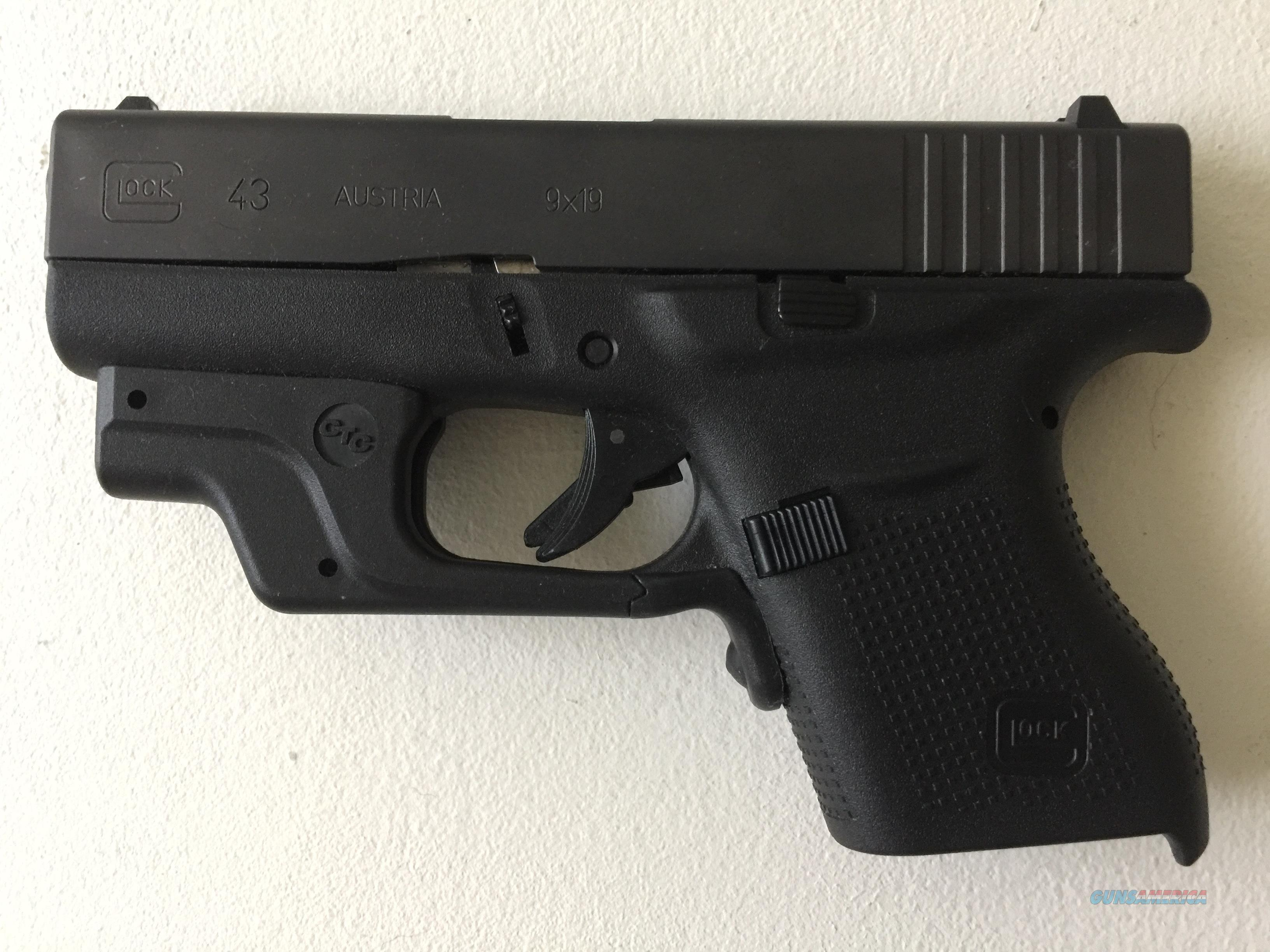 NEW Glock 43 9mm Includes NEW LG-443G GREEN LASERGUARD®  Guns > Pistols > A Misc Pistols