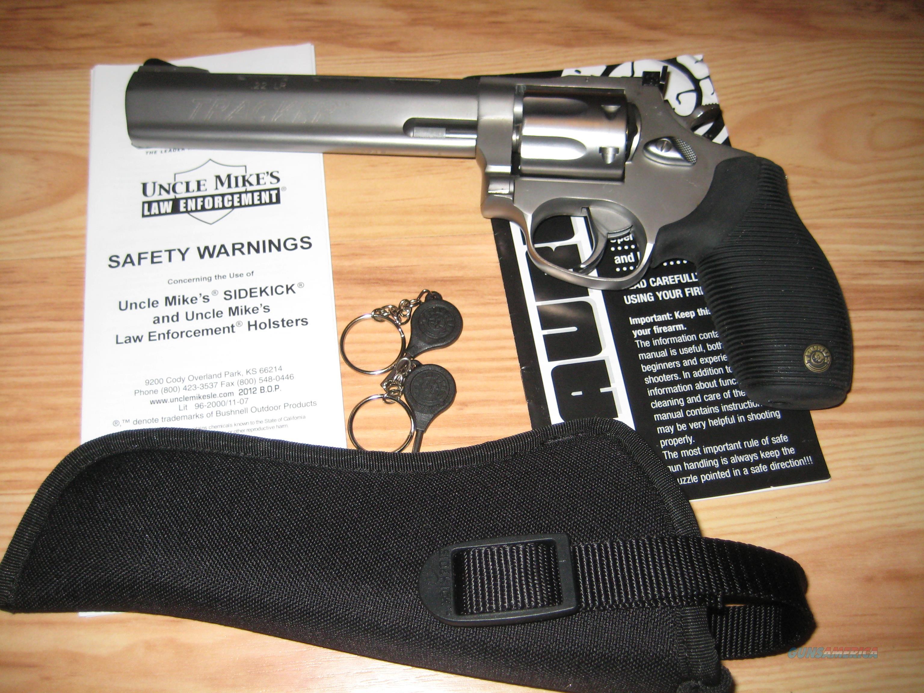 Taurus Tracker .22 LR (7 shot cylinder) Model 970SS6  Guns > Pistols > Taurus Pistols > Revolvers